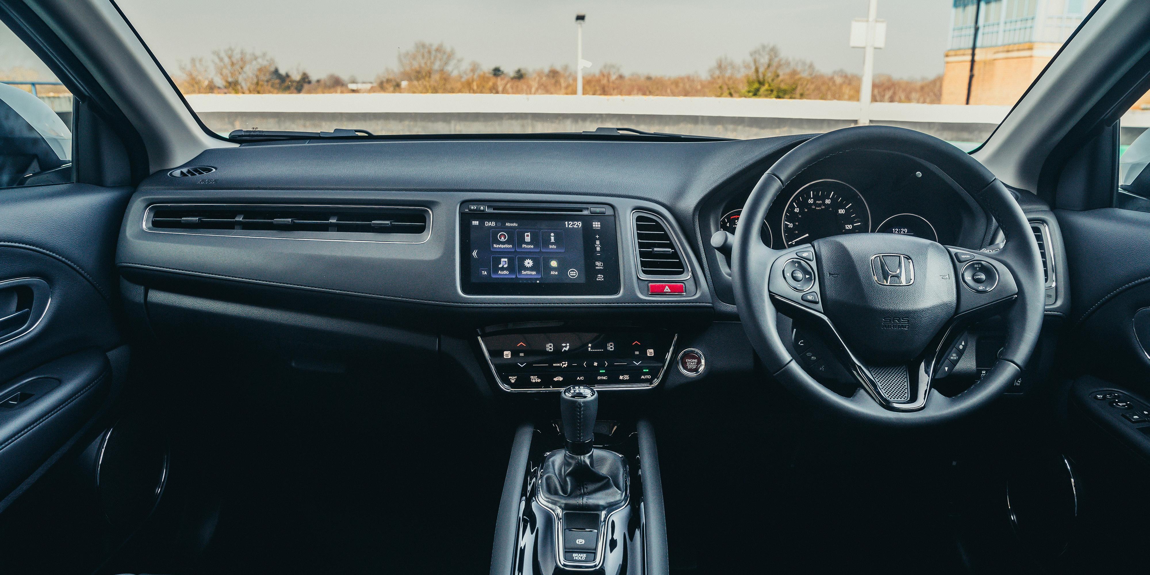 Honda HR-V Interior & Infotainment | carwow
