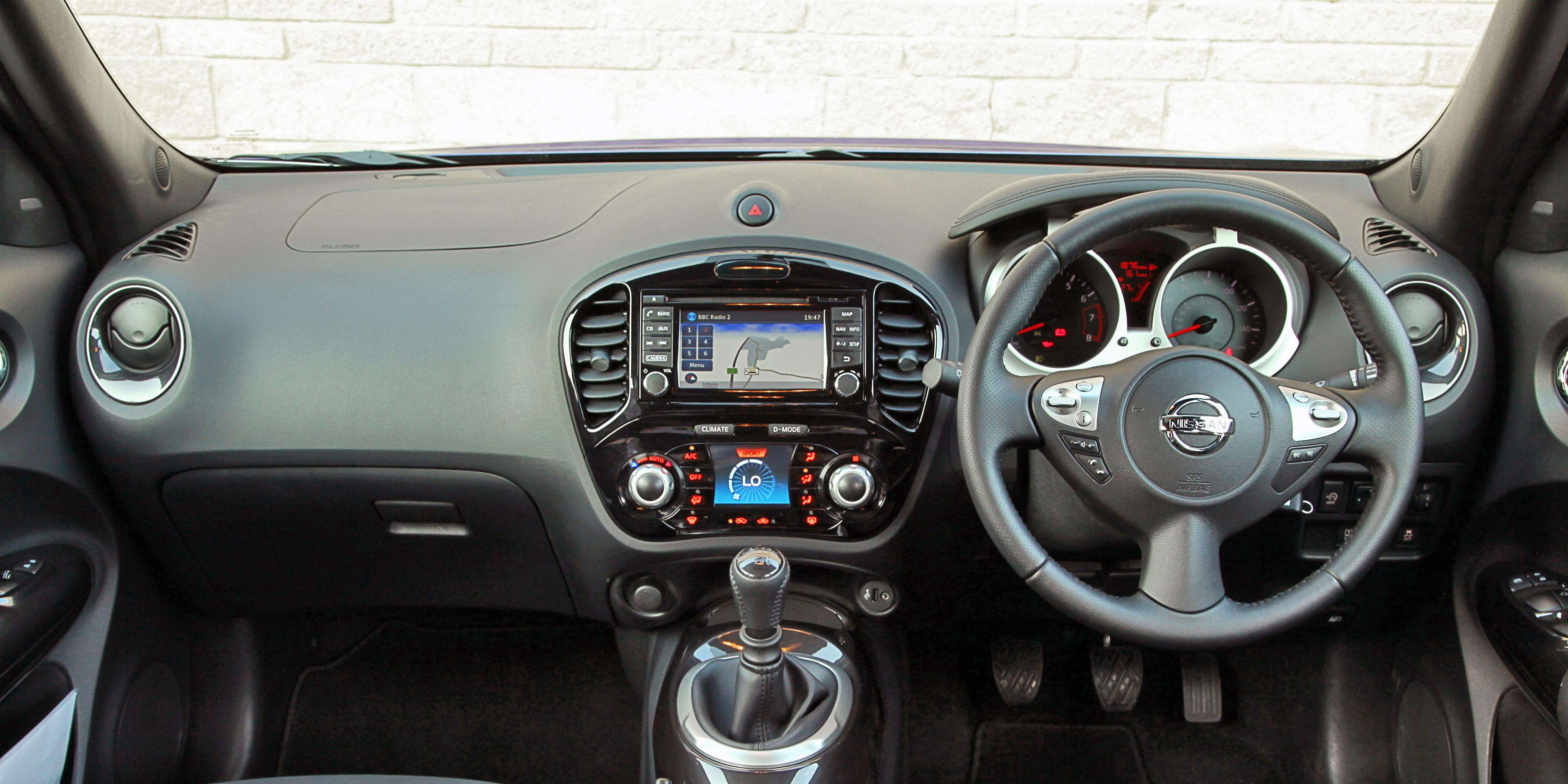 Nissan Juke Interior & Infotainment | carwow