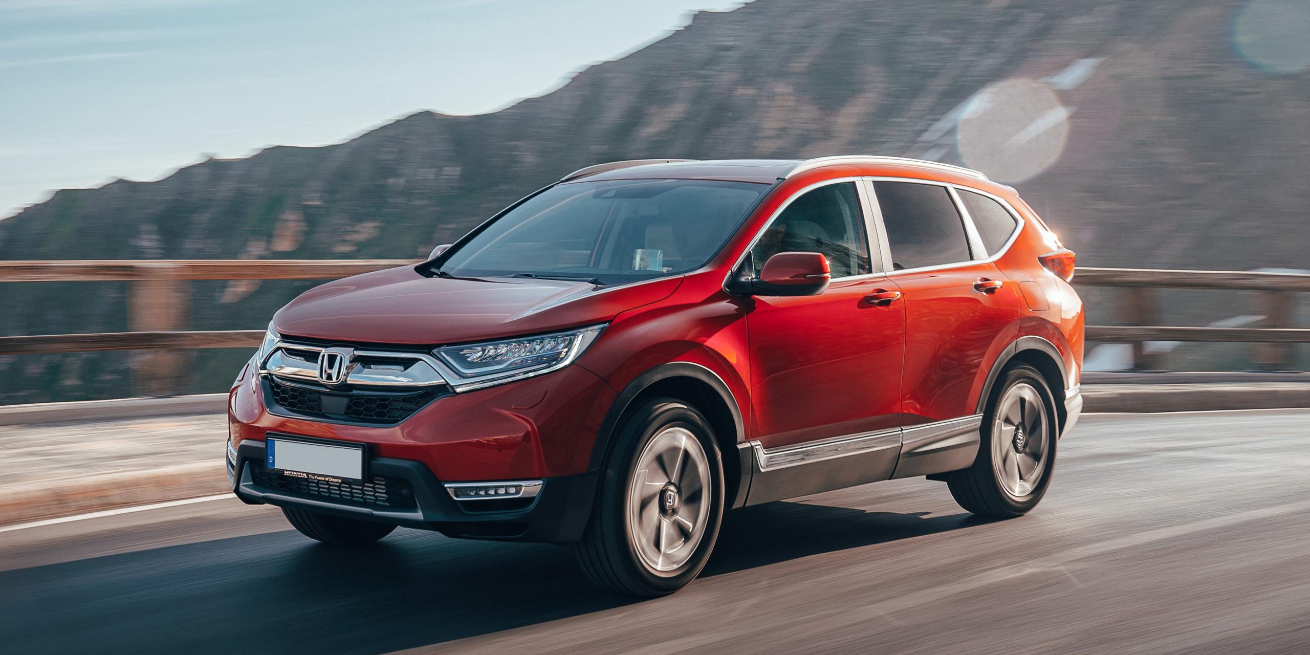 Honda Cr V Review 2021 Carwow