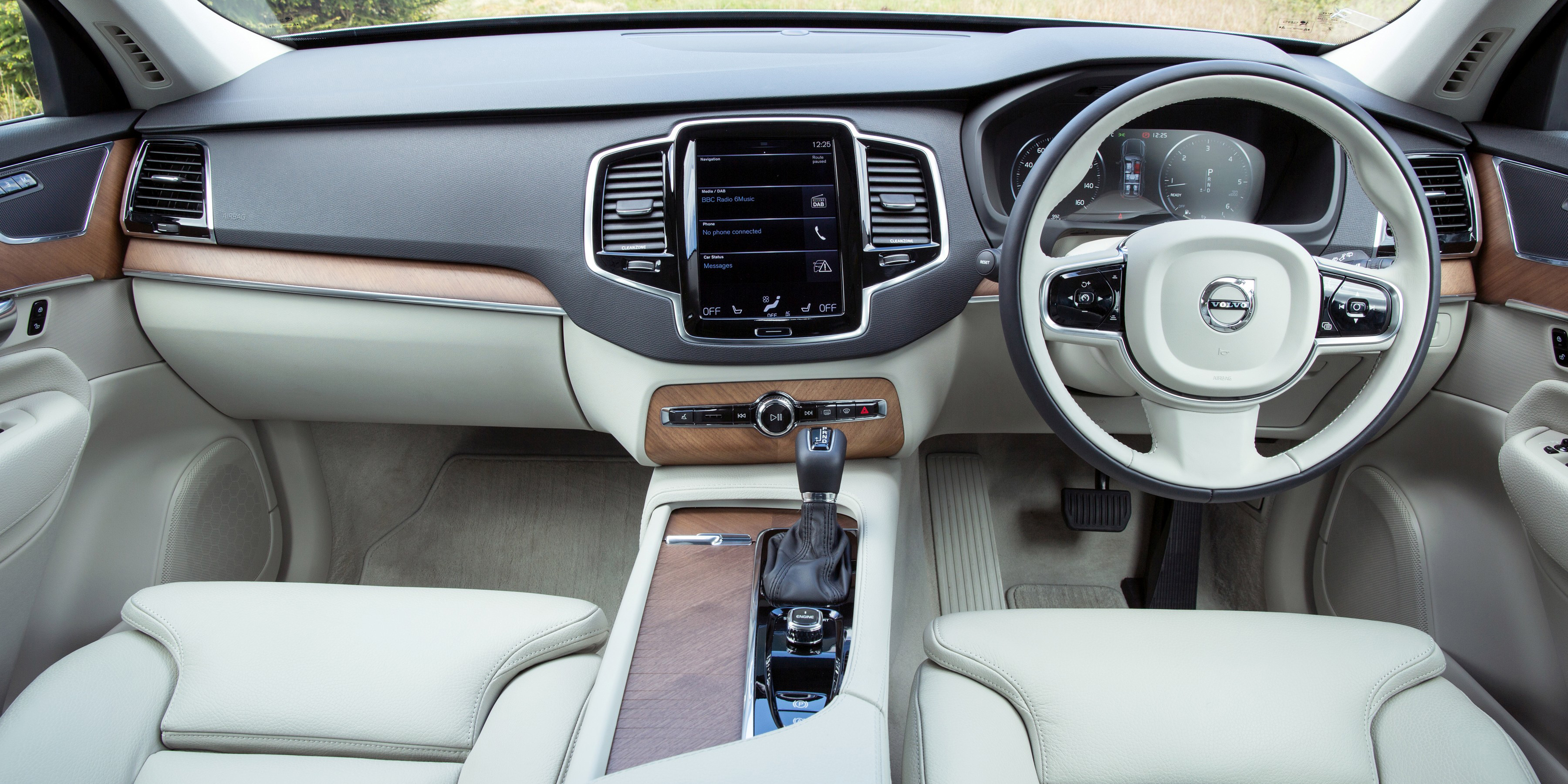 Used Cars Tucson >> Volvo XC90 Interior & Infotainment | carwow
