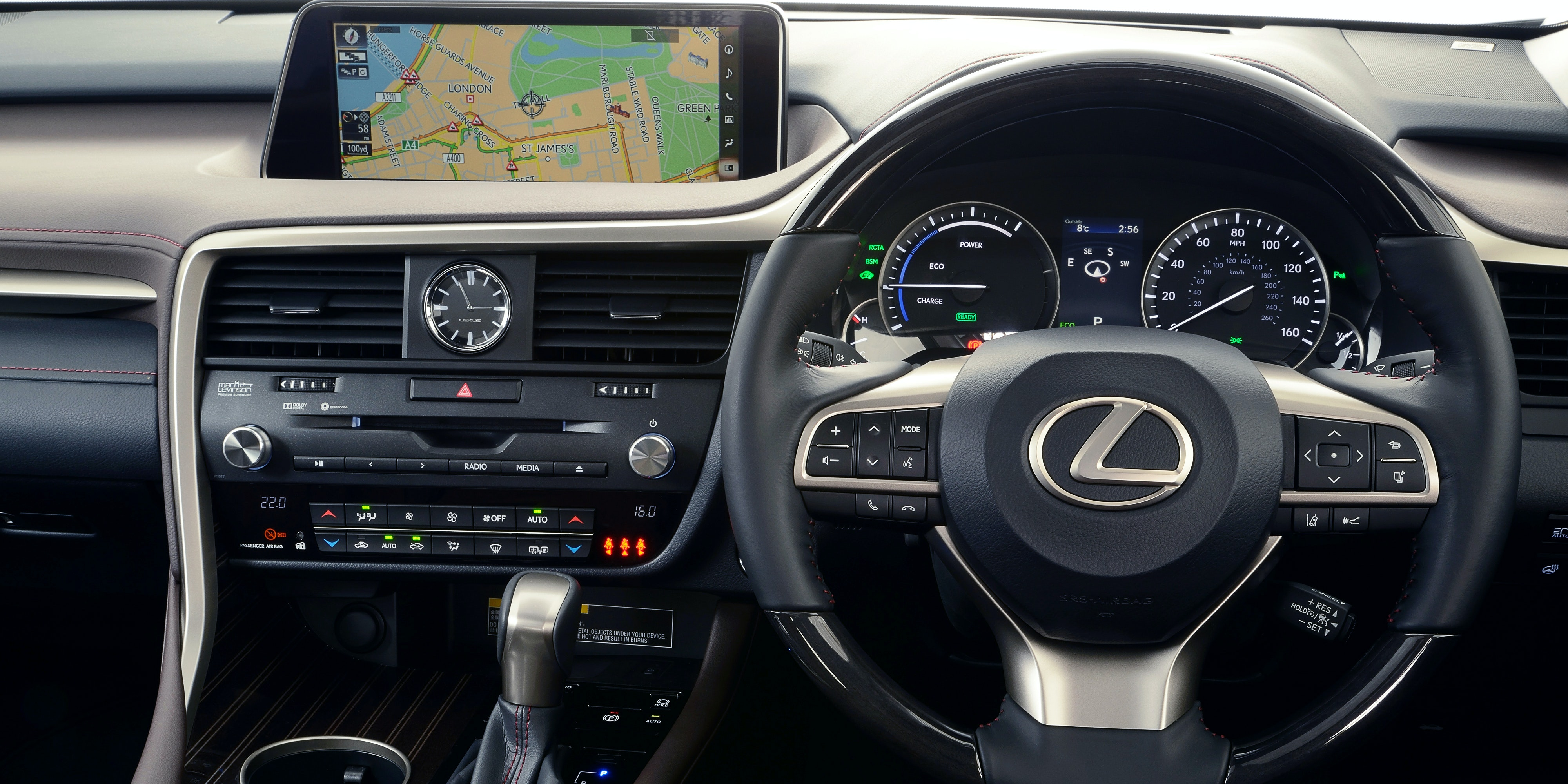 Elegant Lexus RX Interior And Infotainment | Carwow