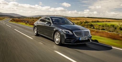 2. Mercedes S-Class