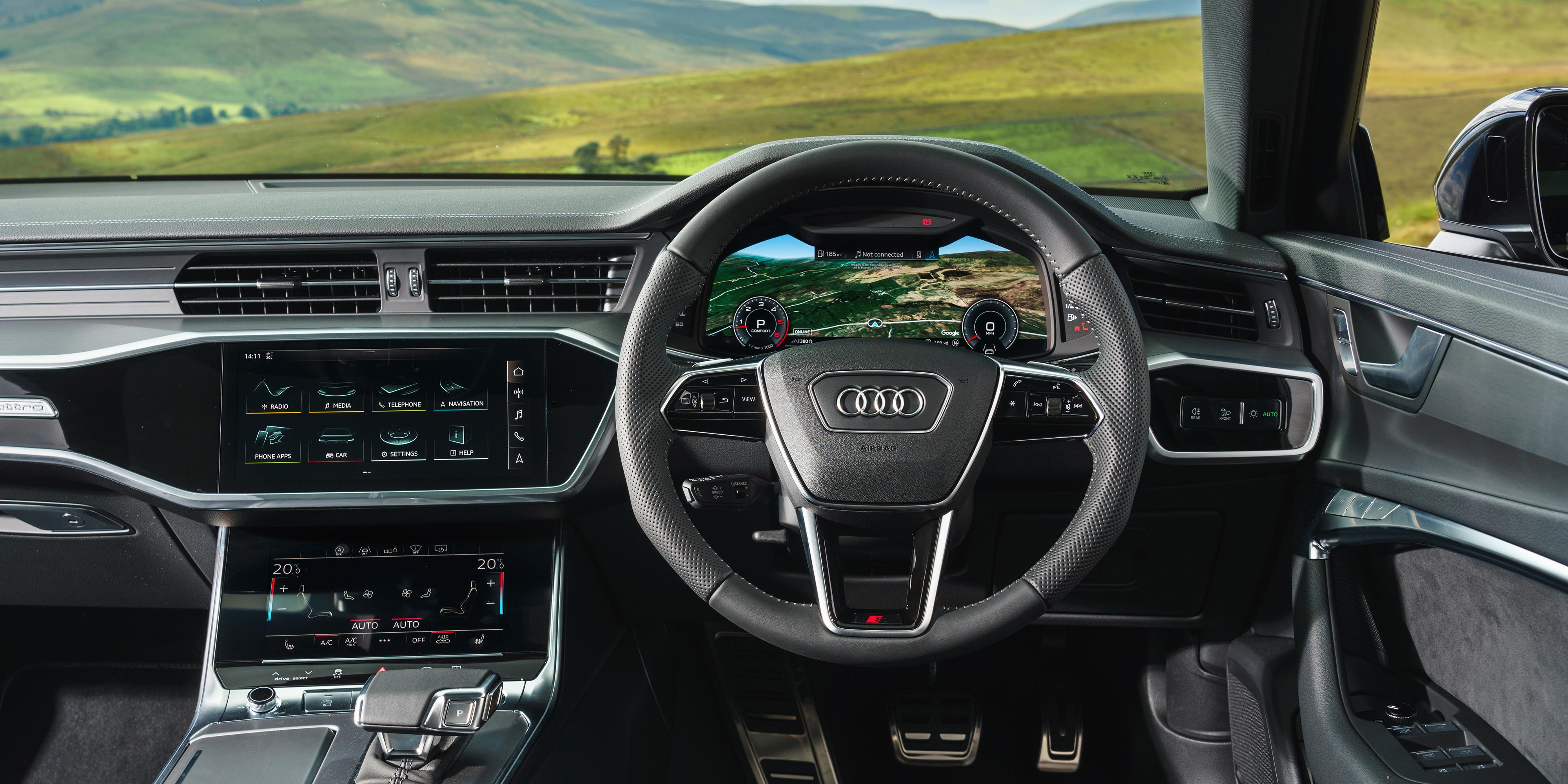 Audi A6 Avant Interior Amp Infotainment Carwow