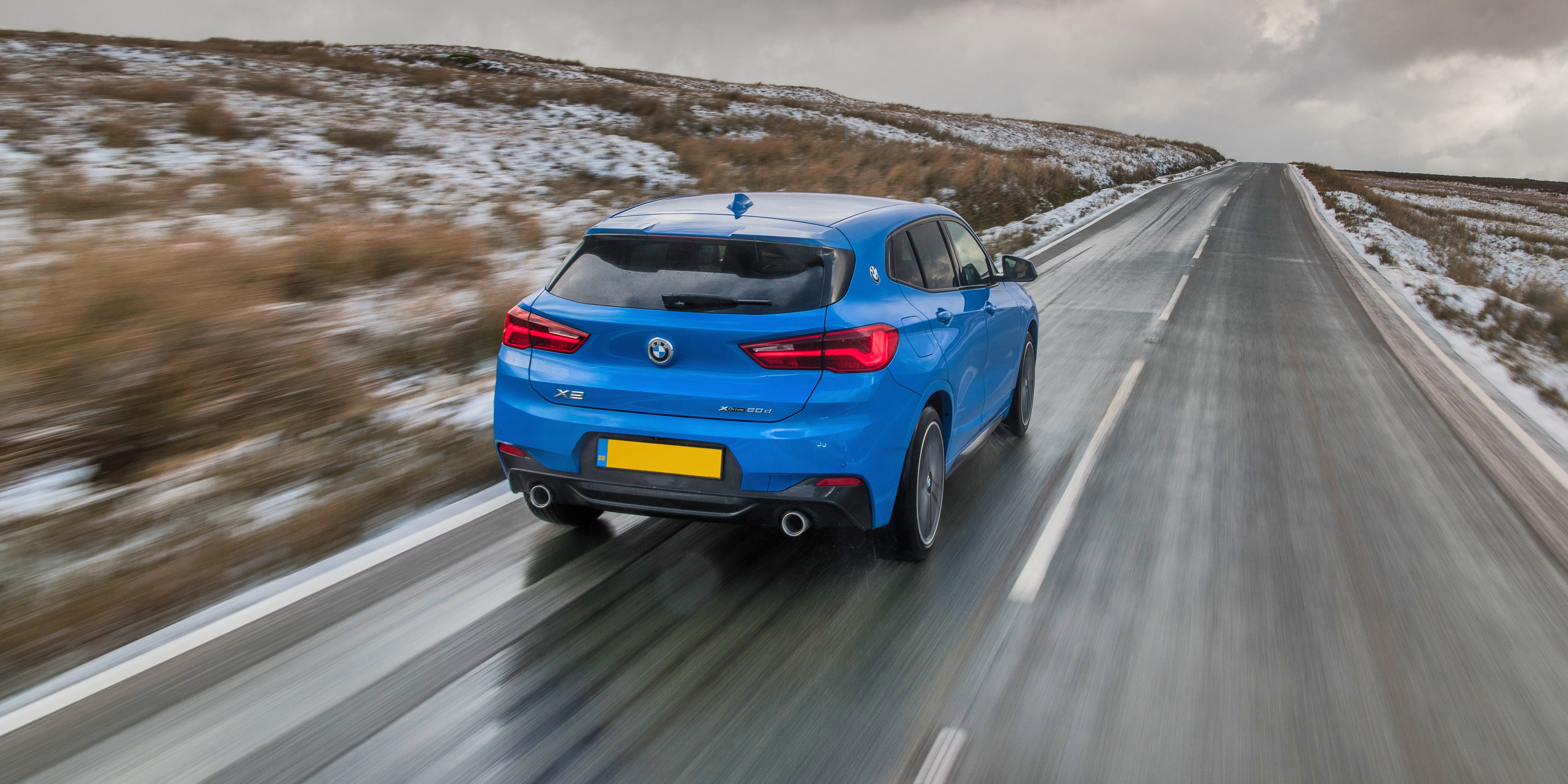 The X2's ride is quite firm on bumpy roads