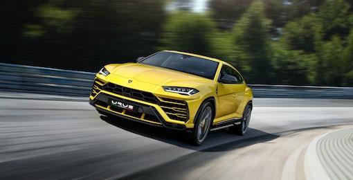 2. Lamborghini Urus