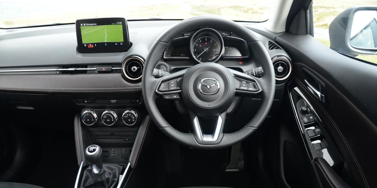 Mazda 2 Interior & Infotainment  carwow