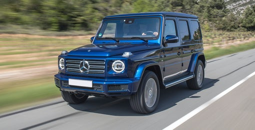 5. Mercedes G-class