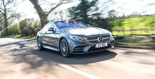2. Mercedes S-Class Coupe