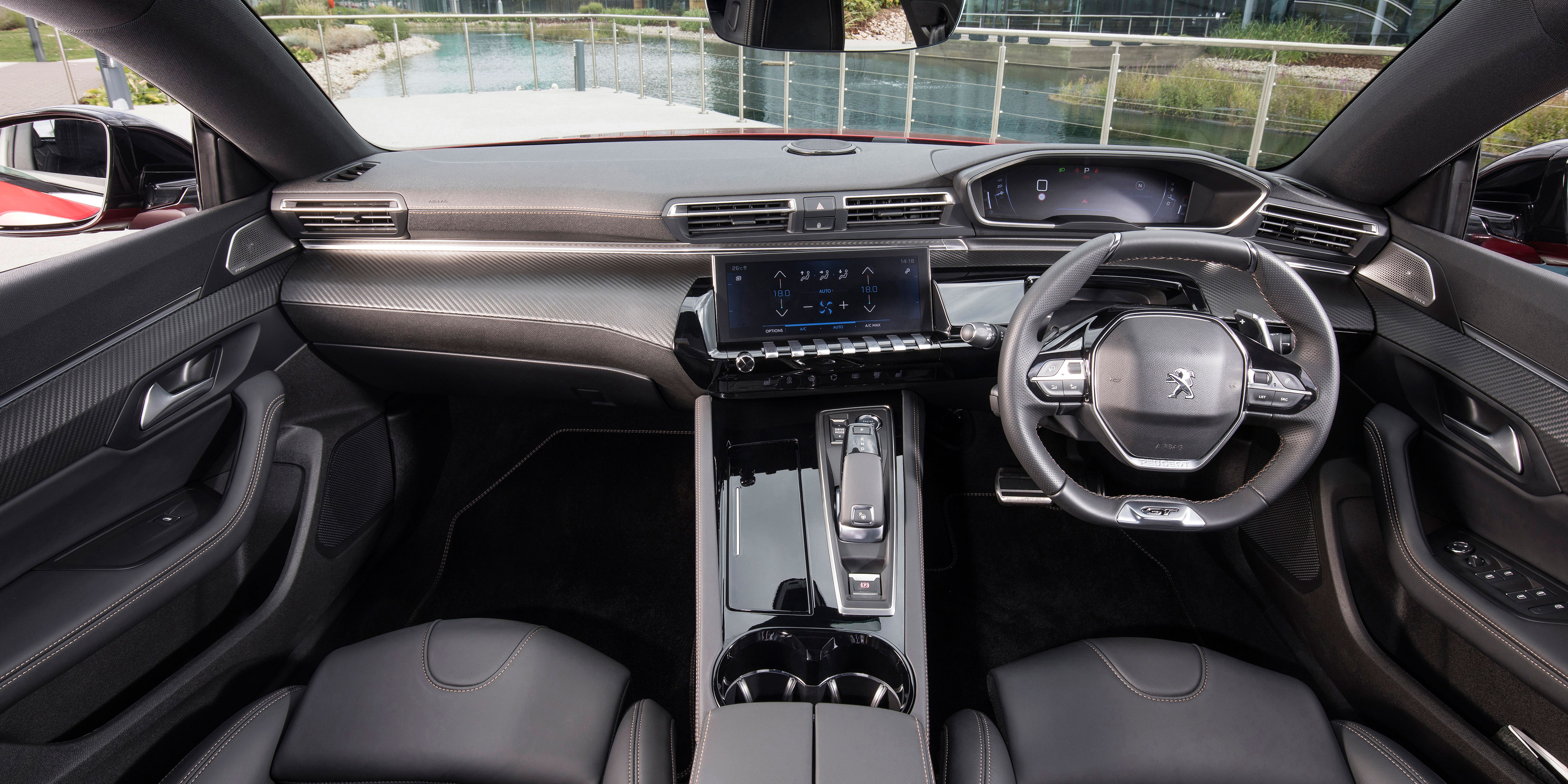 Peugeot 508 Interior Infotainment Carwow