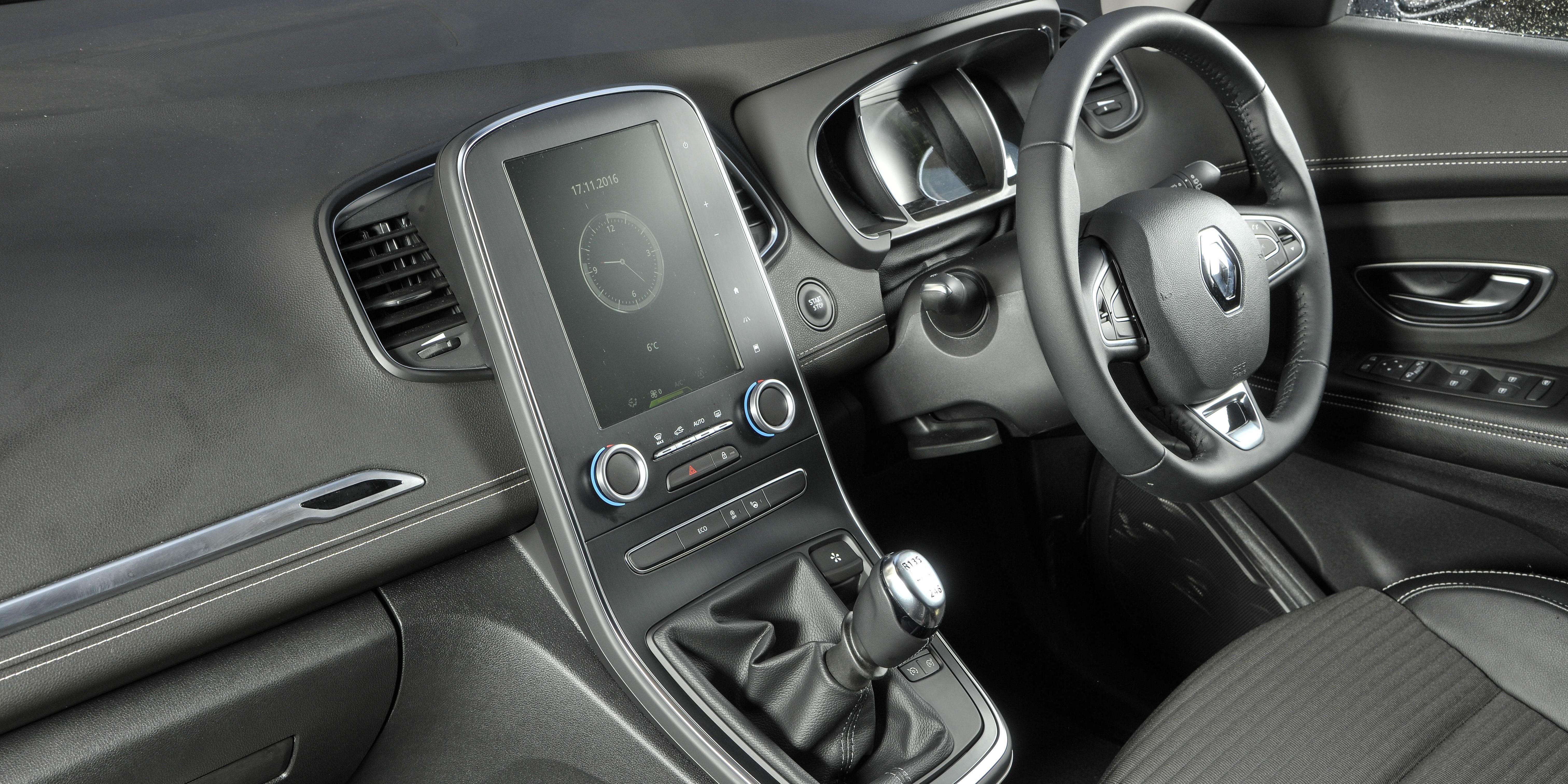 Renault Scenic Interior Infotainment Carwow