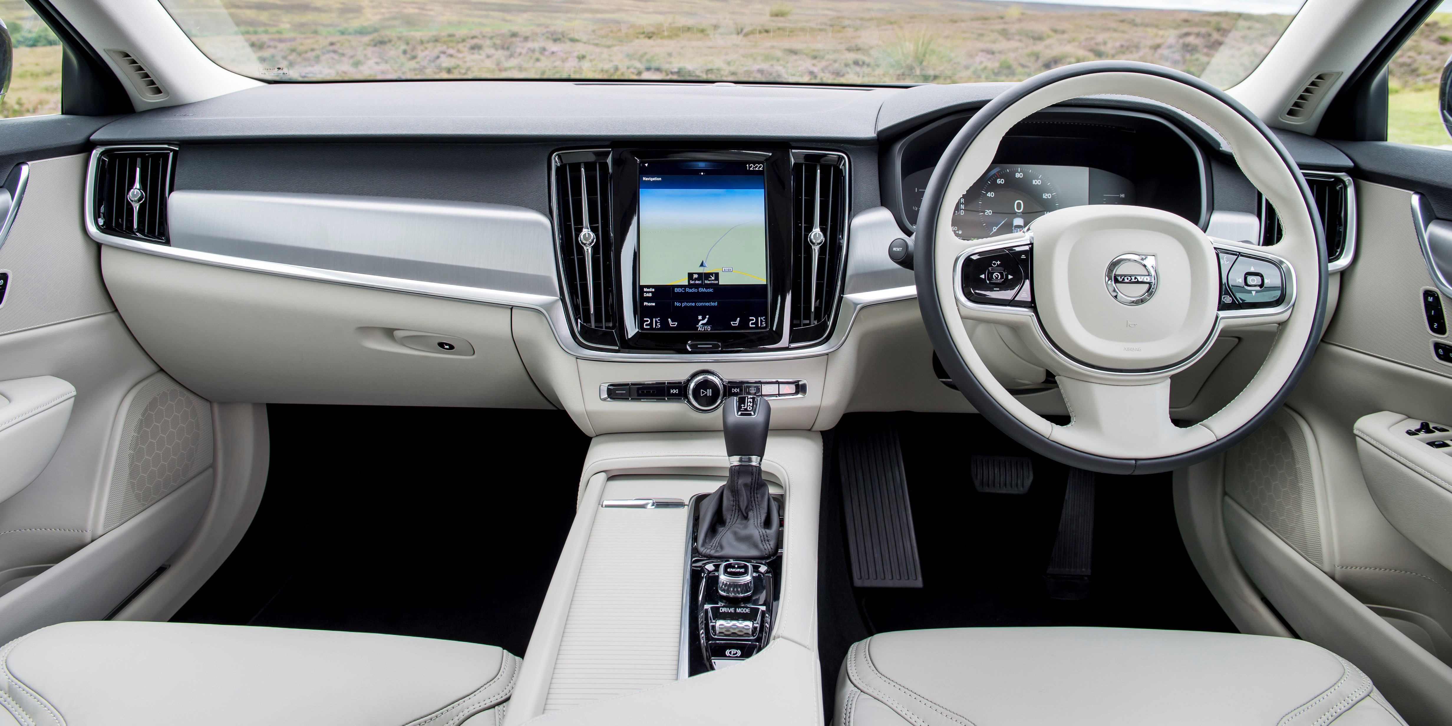 Volvo V90 Interior Amp Infotainment Carwow
