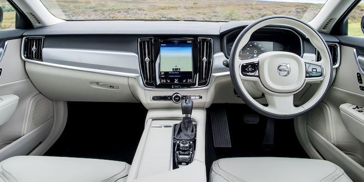Volvo S90 Interior >> Volvo V90 Interior Infotainment Carwow