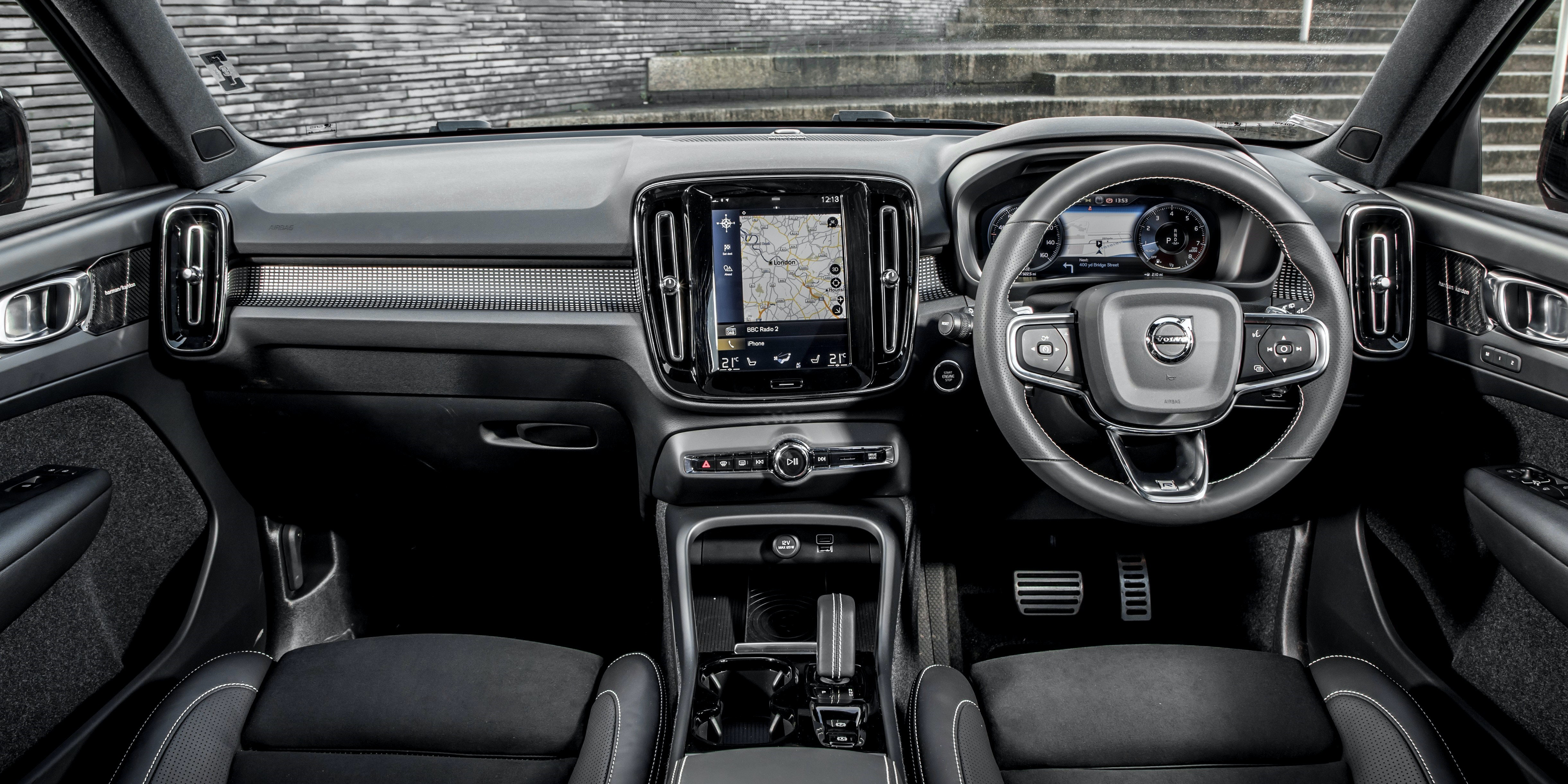 Volvo has made an interior classy enough to rival Mercedes and Audi