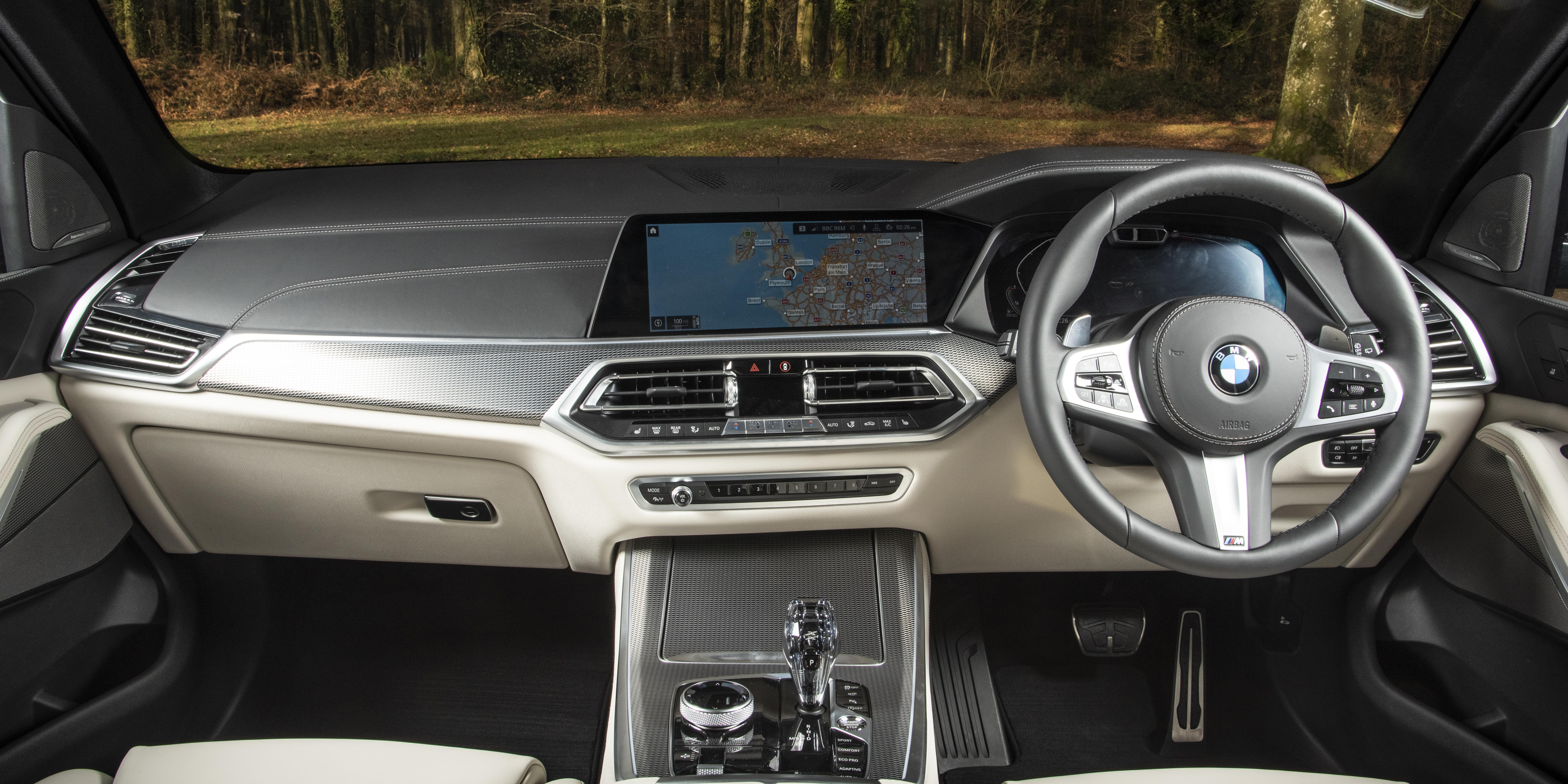 BMW X5 Interior & Infotainment  carwow