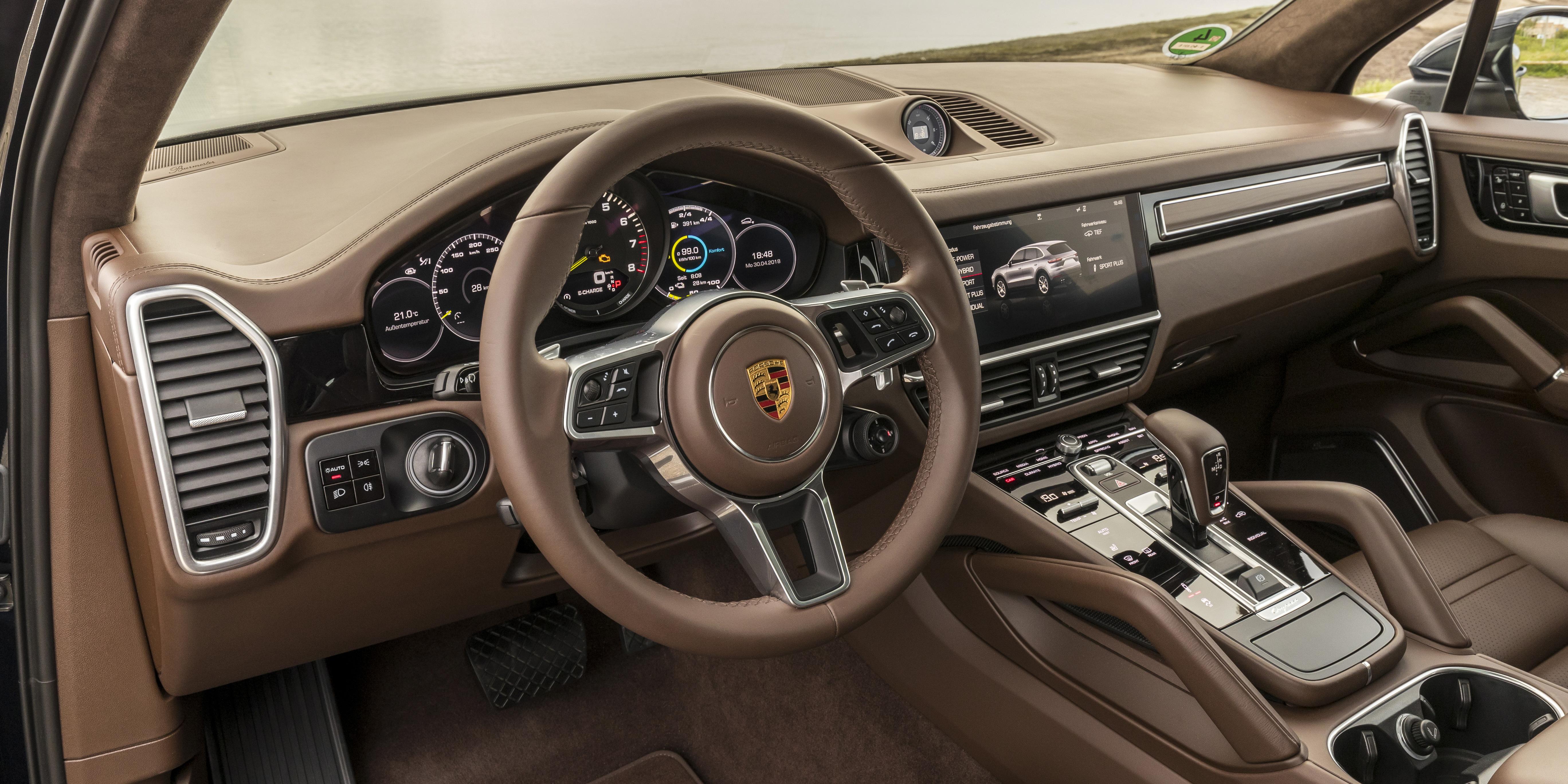 Porsche Cayenne Interior Infotainment Carwow