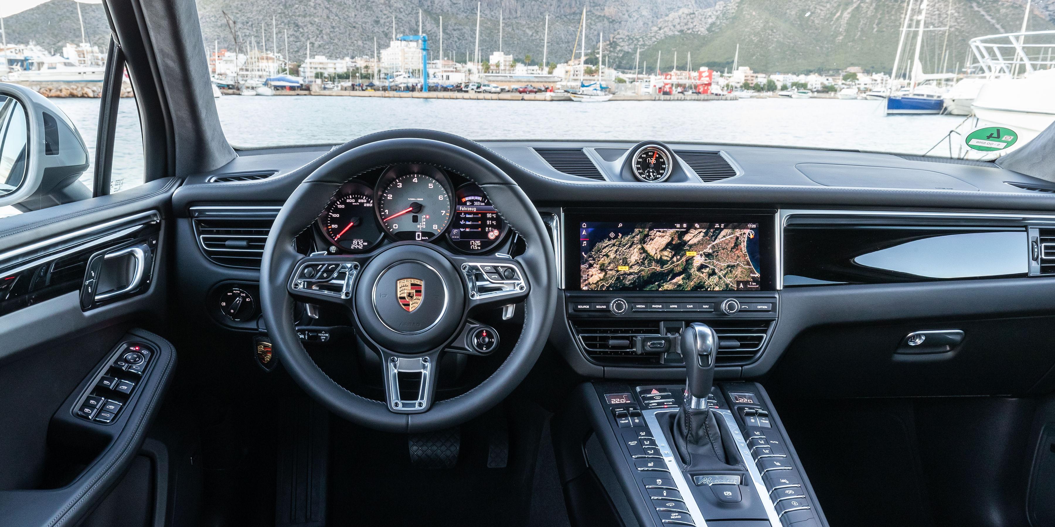 Porsche Macan Interior Infotainment Carwow