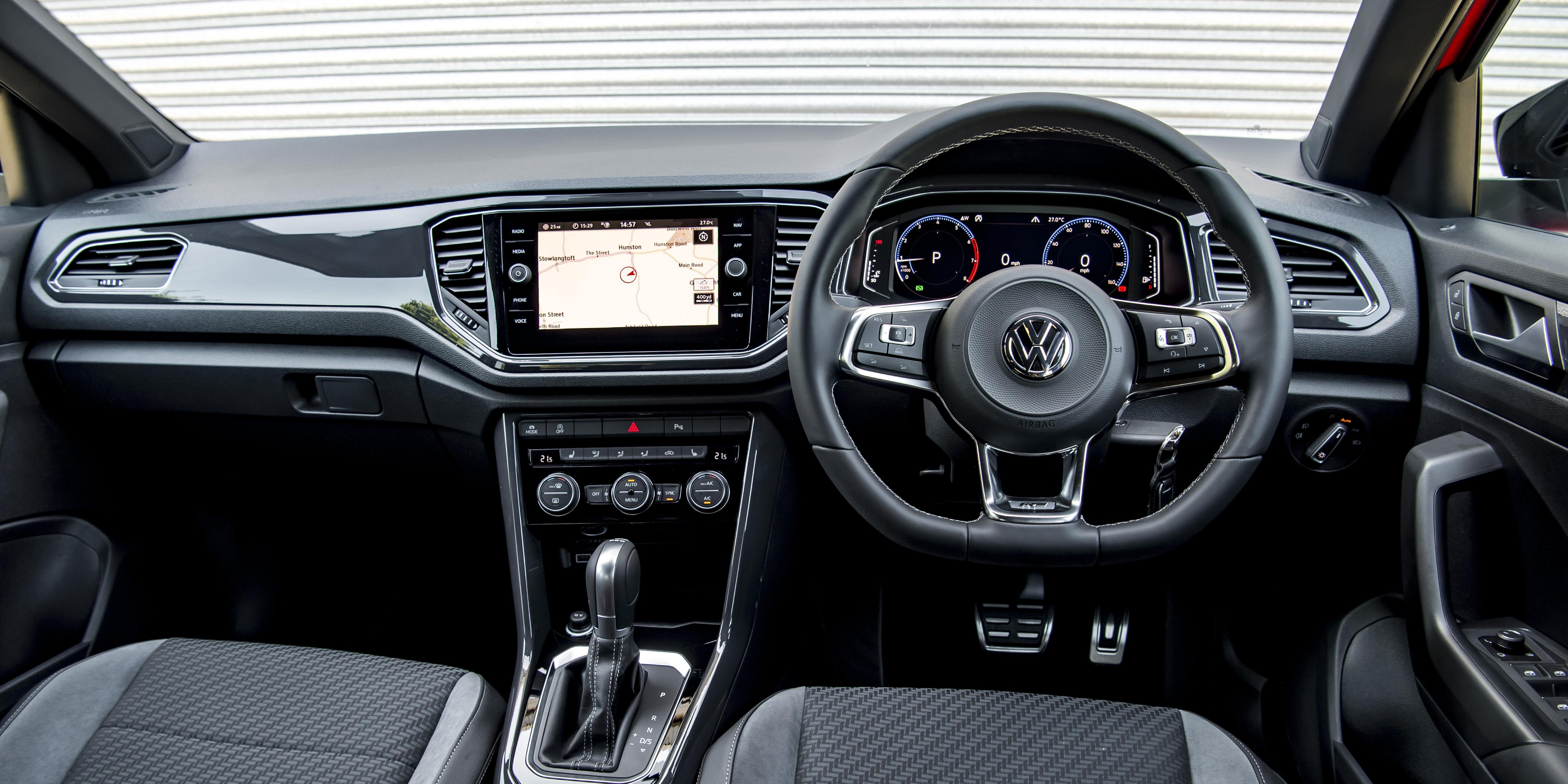 Volkswagen T Roc Interior Infotainment Carwow