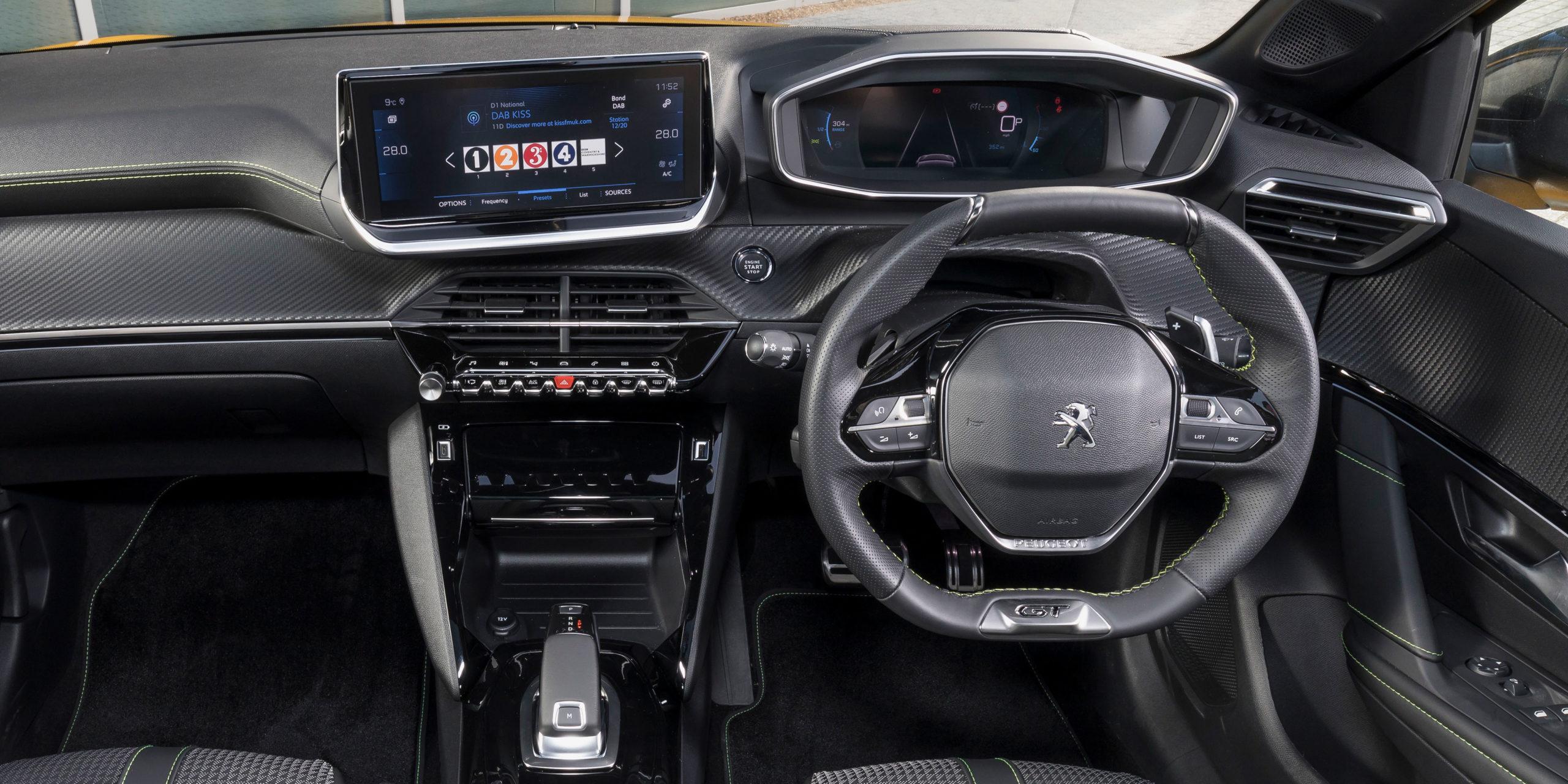 Peugeot 208 Interior Infotainment Carwow