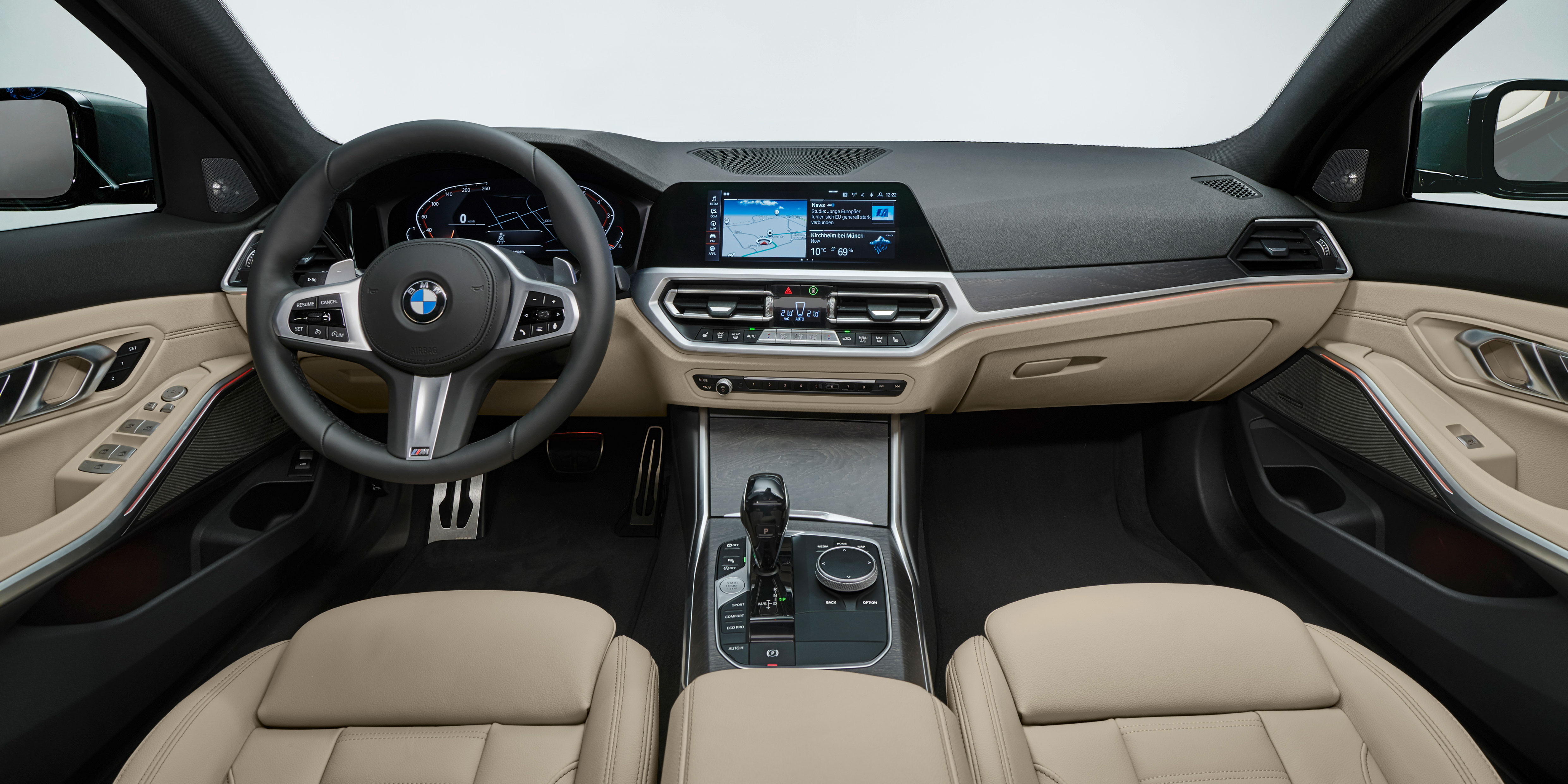Bmw 3 Series Touring Interior Infotainment Carwow