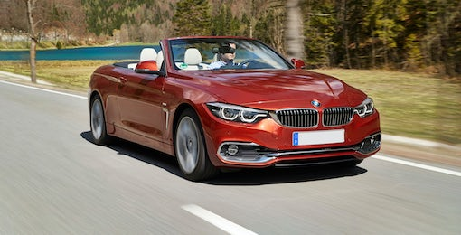 2. BMW 4 Series Convertible