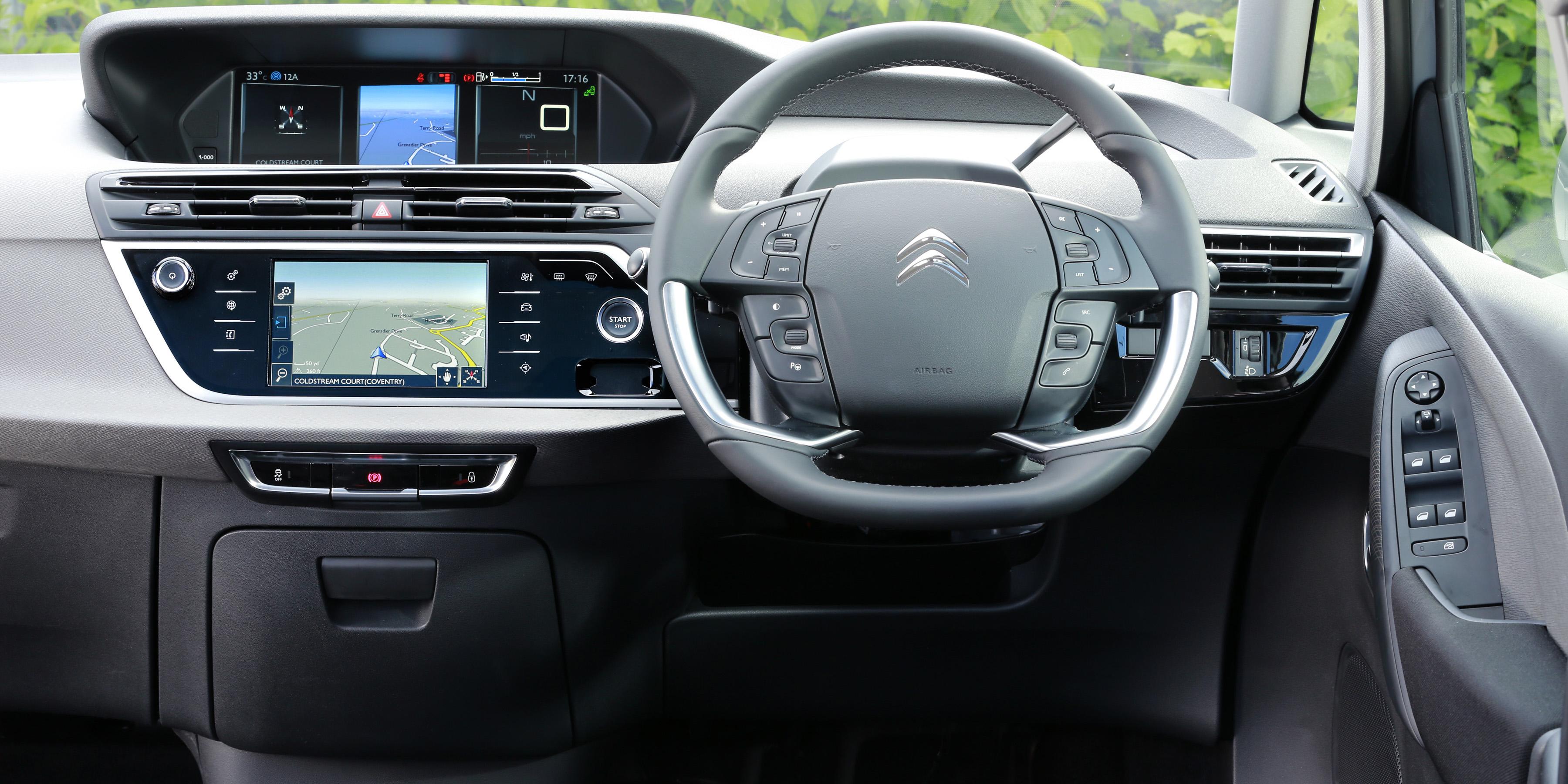 Volvo Of Tucson >> Citroen C4 SpaceTourer Interior & Infotainment | carwow