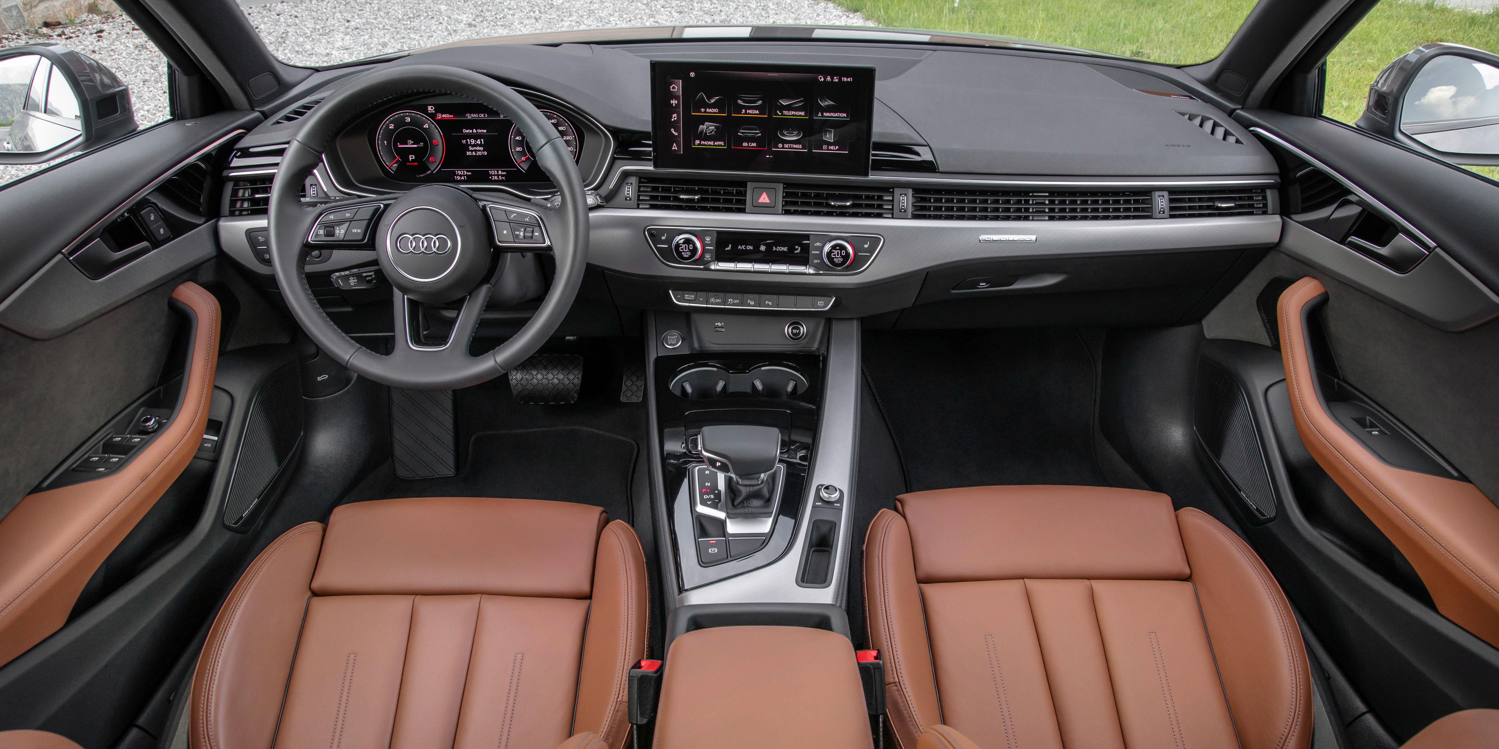 Audi A4 Avant Interior Infotainment Carwow