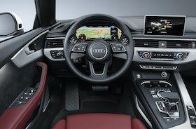 Audi A5 Cabriolet Review Interior Price Specs 1 9