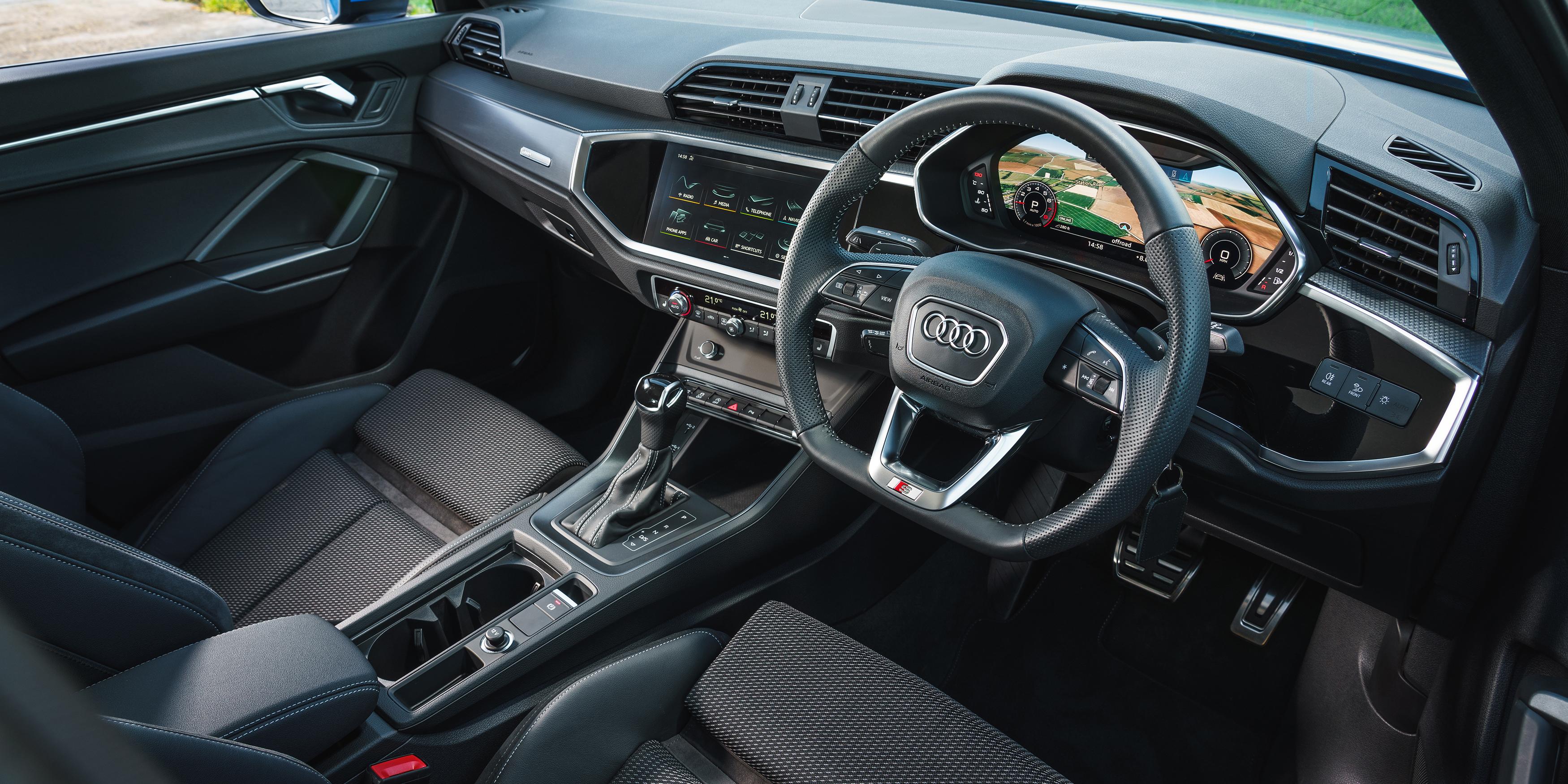 Audi Q3 Interior Infotainment Carwow