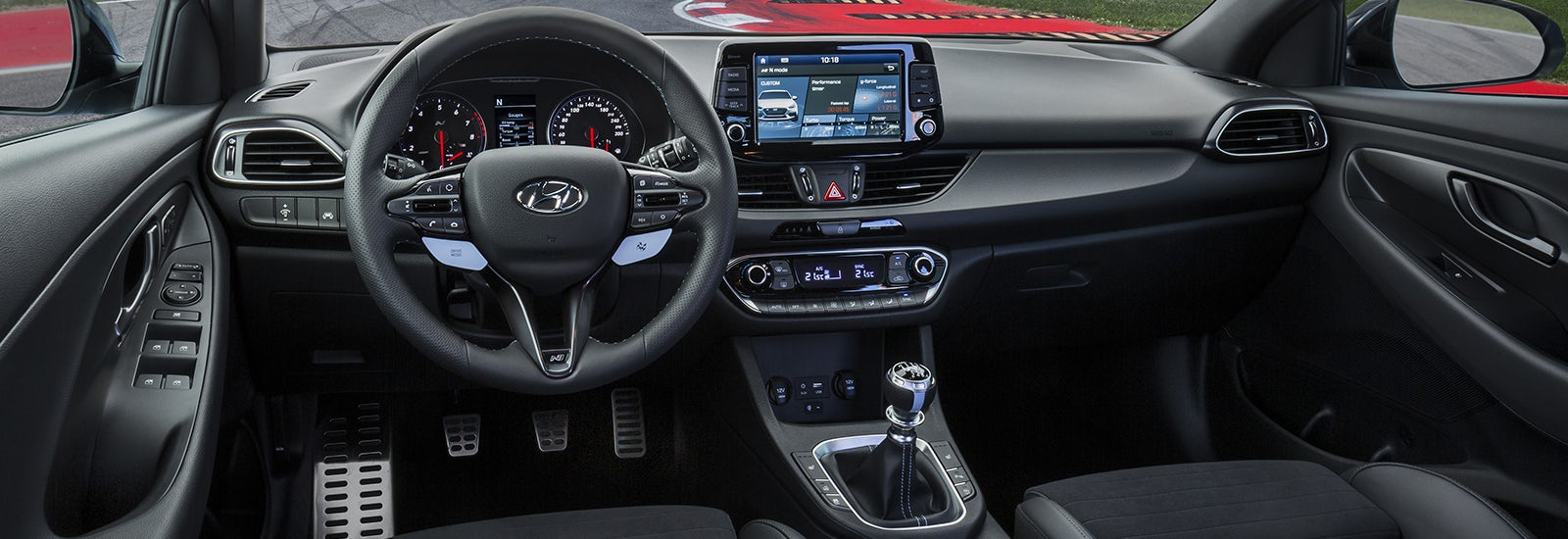 Hyundai i30 n hot hatch price specs release date carwow for Interior hyundai i30