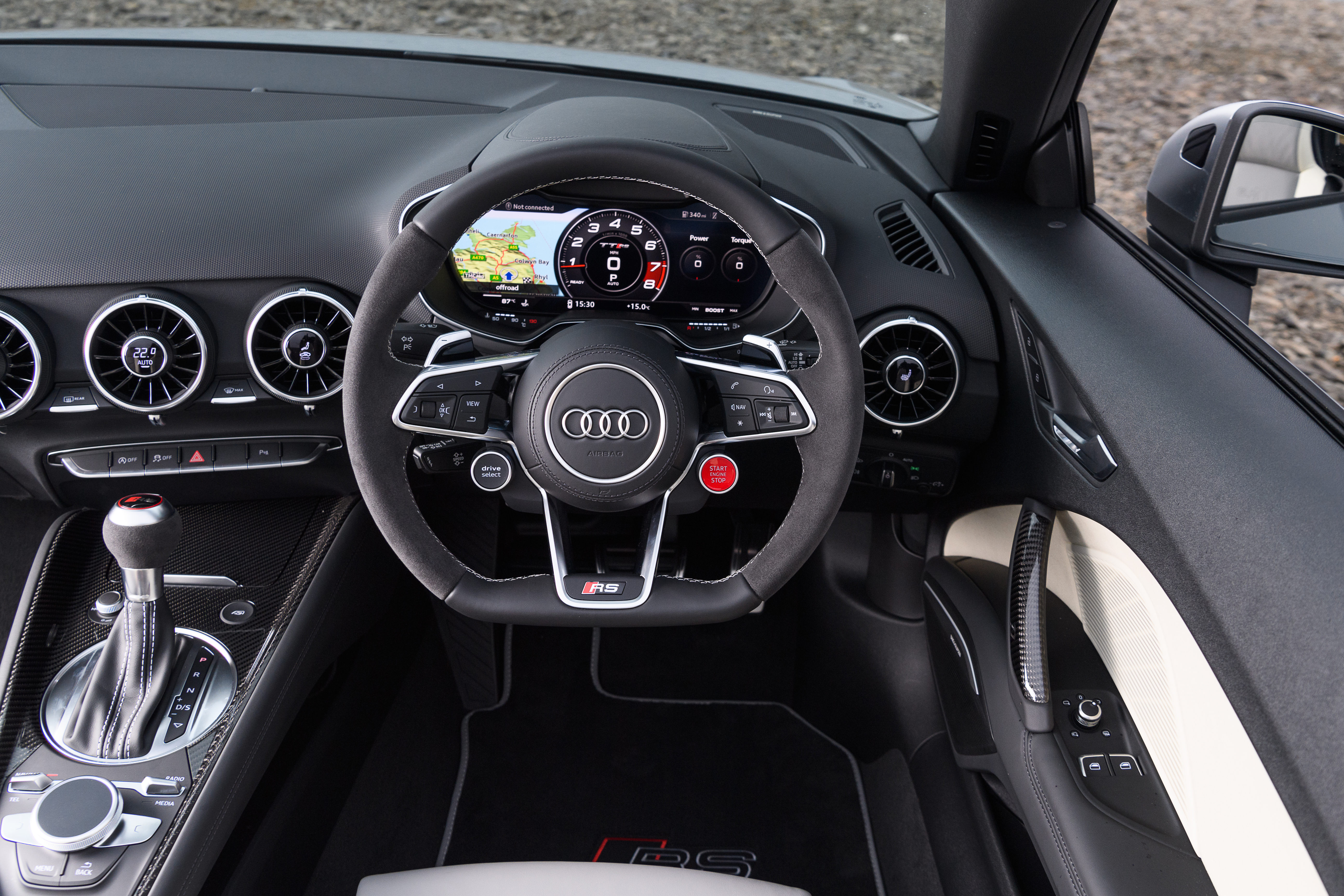 Audi Tt Rs Roadster Interior Amp Infotainment Carwow