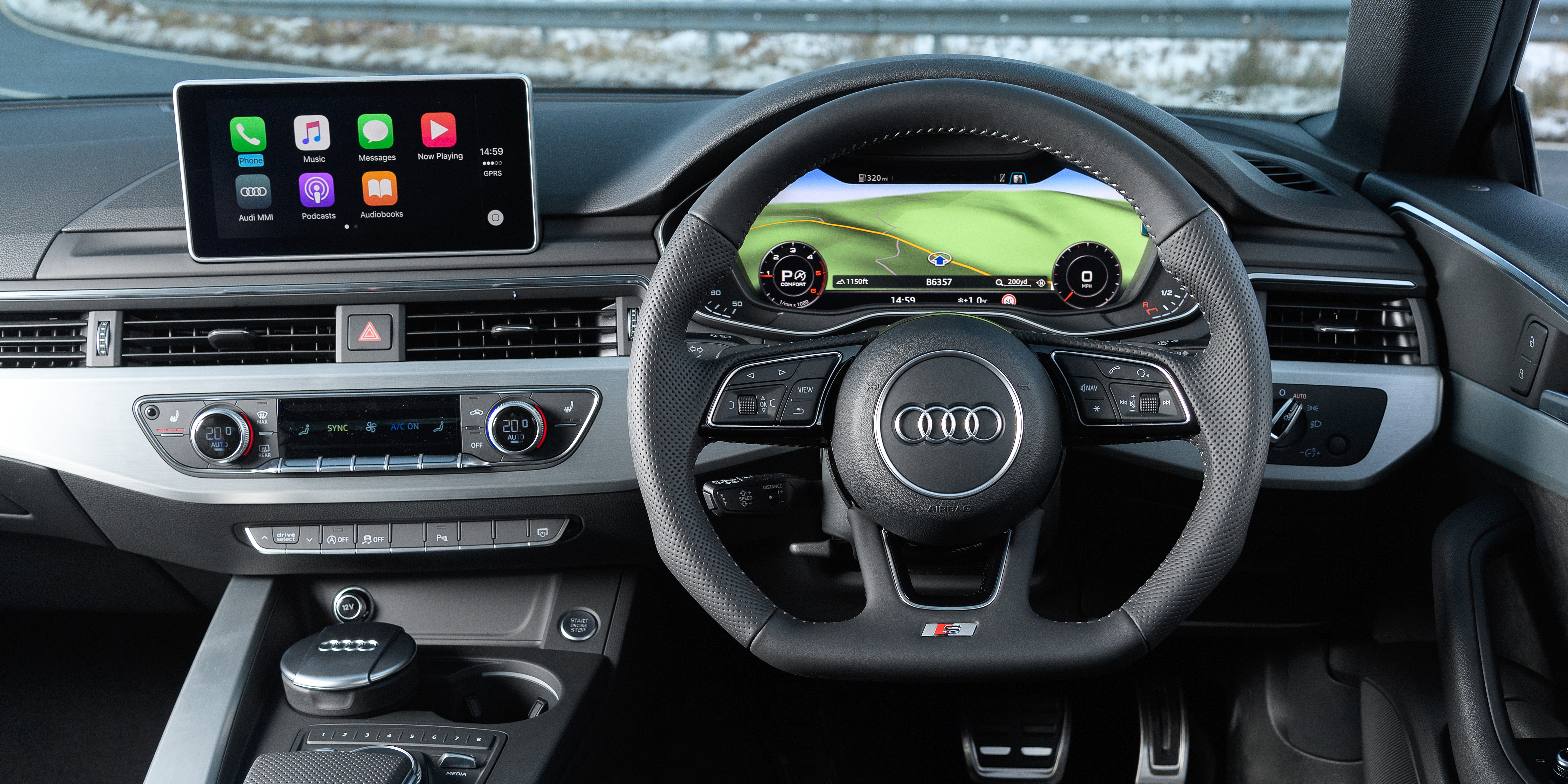 Audi A5 Sportback Interior & Infotainment | carwow