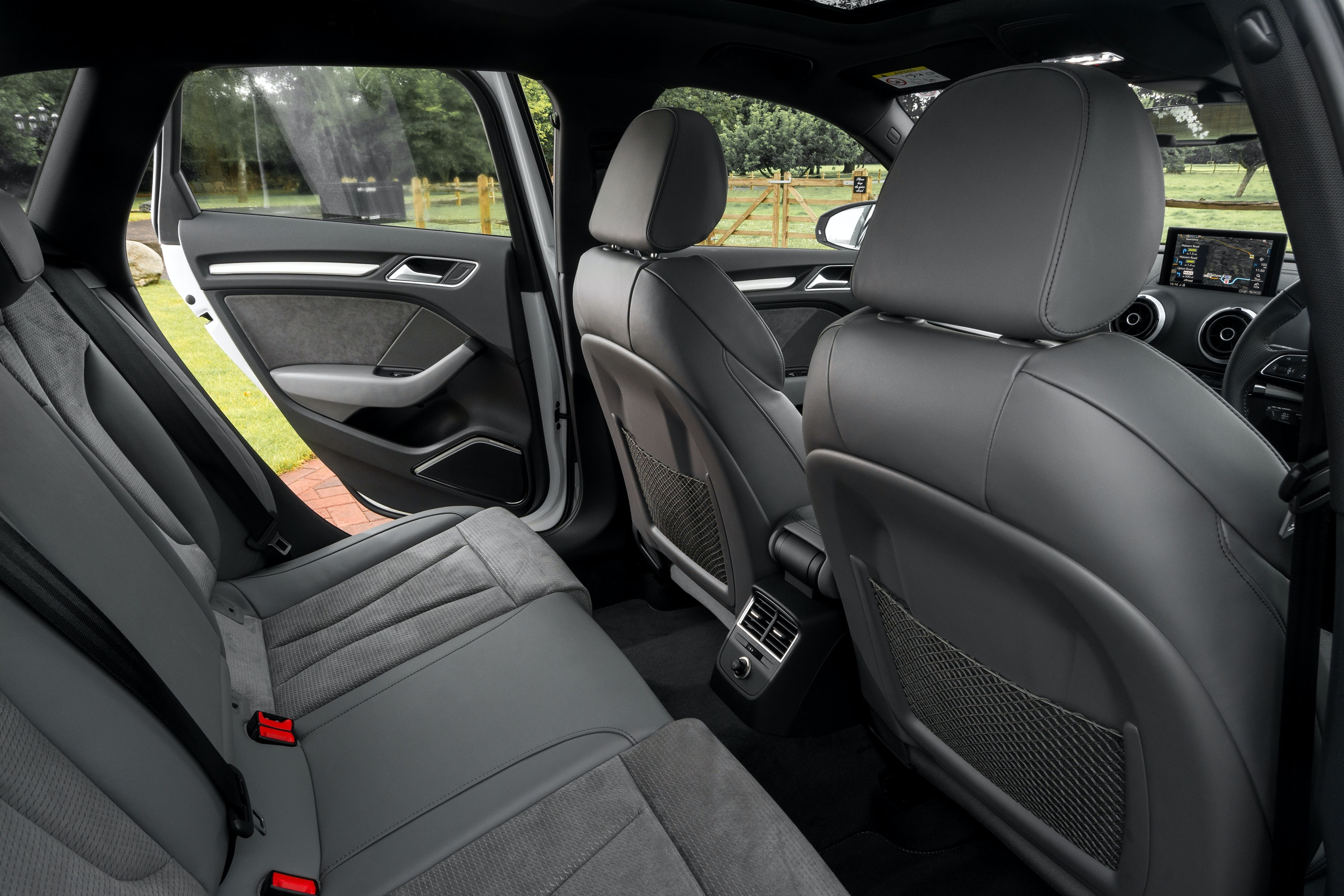 Two Adults Can Comfortably Fit In The Back
