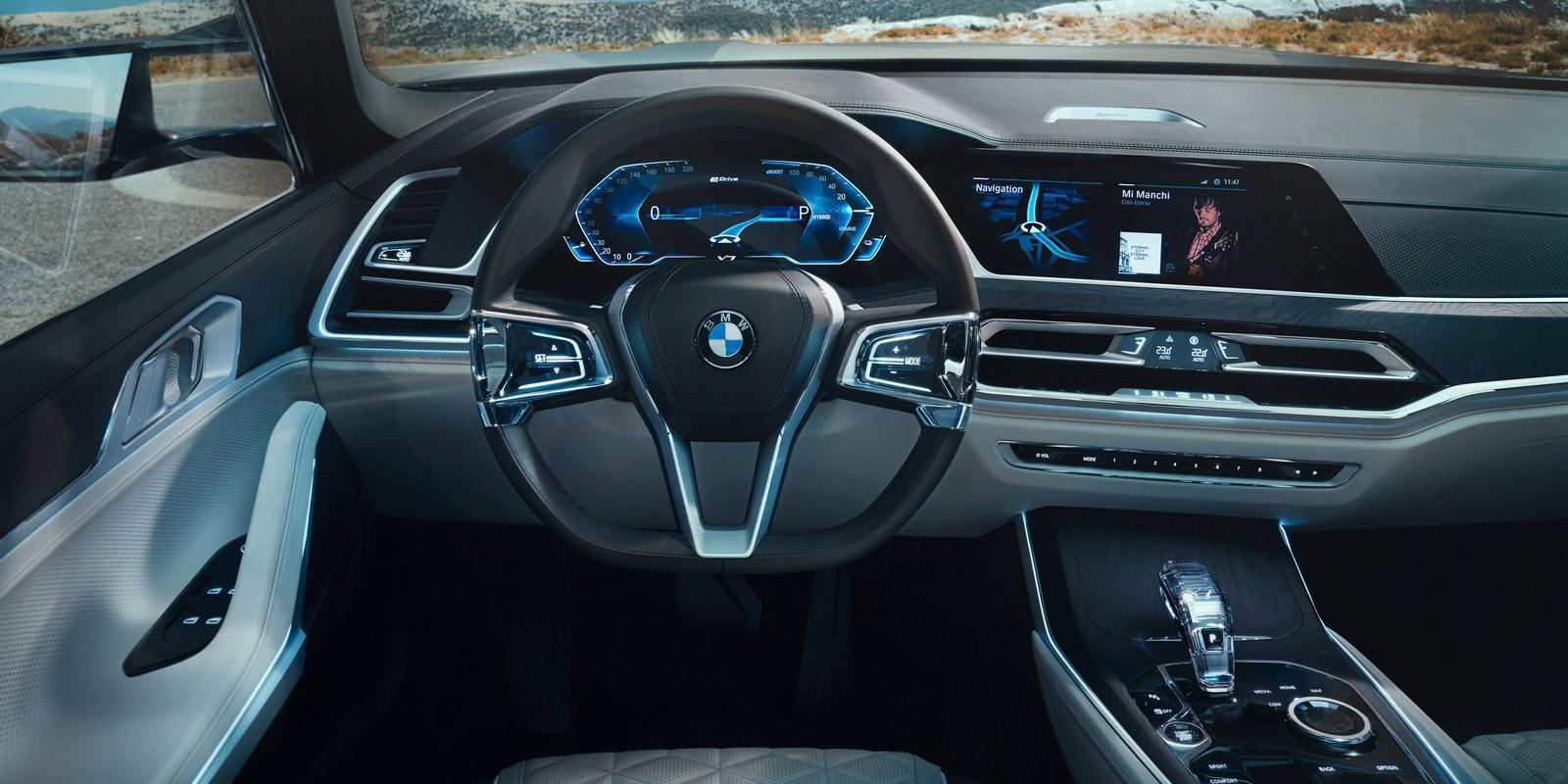 2018 bmw x7. plain 2018 bmw x7 concept interior for 2018 bmw x7 s