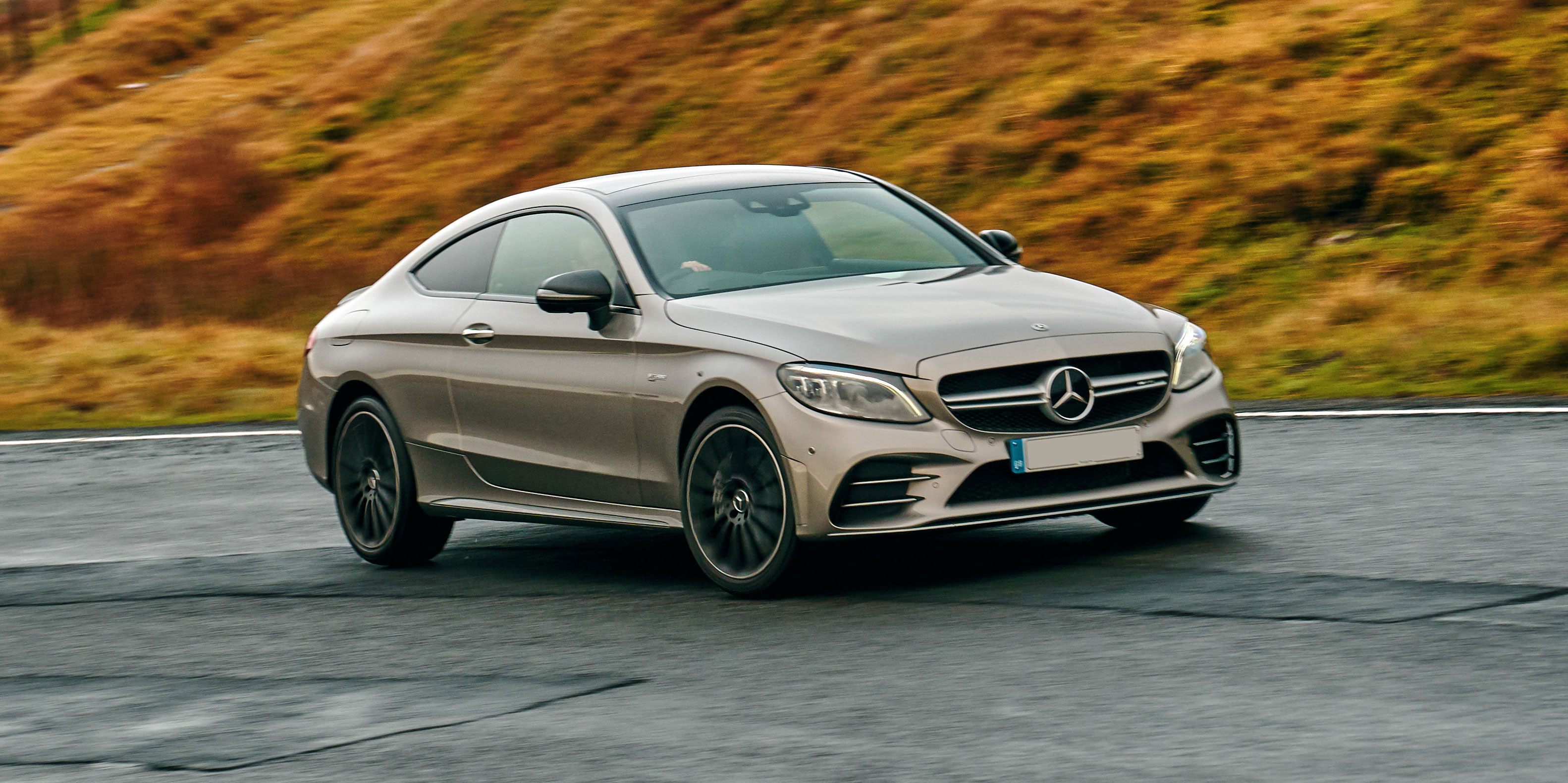 New Mercedes Amg C43 Coupe Review Carwow
