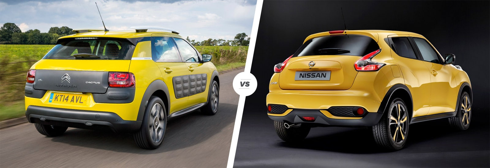 citroen c4 cactus vs nissan juke: crossover clash   carwow