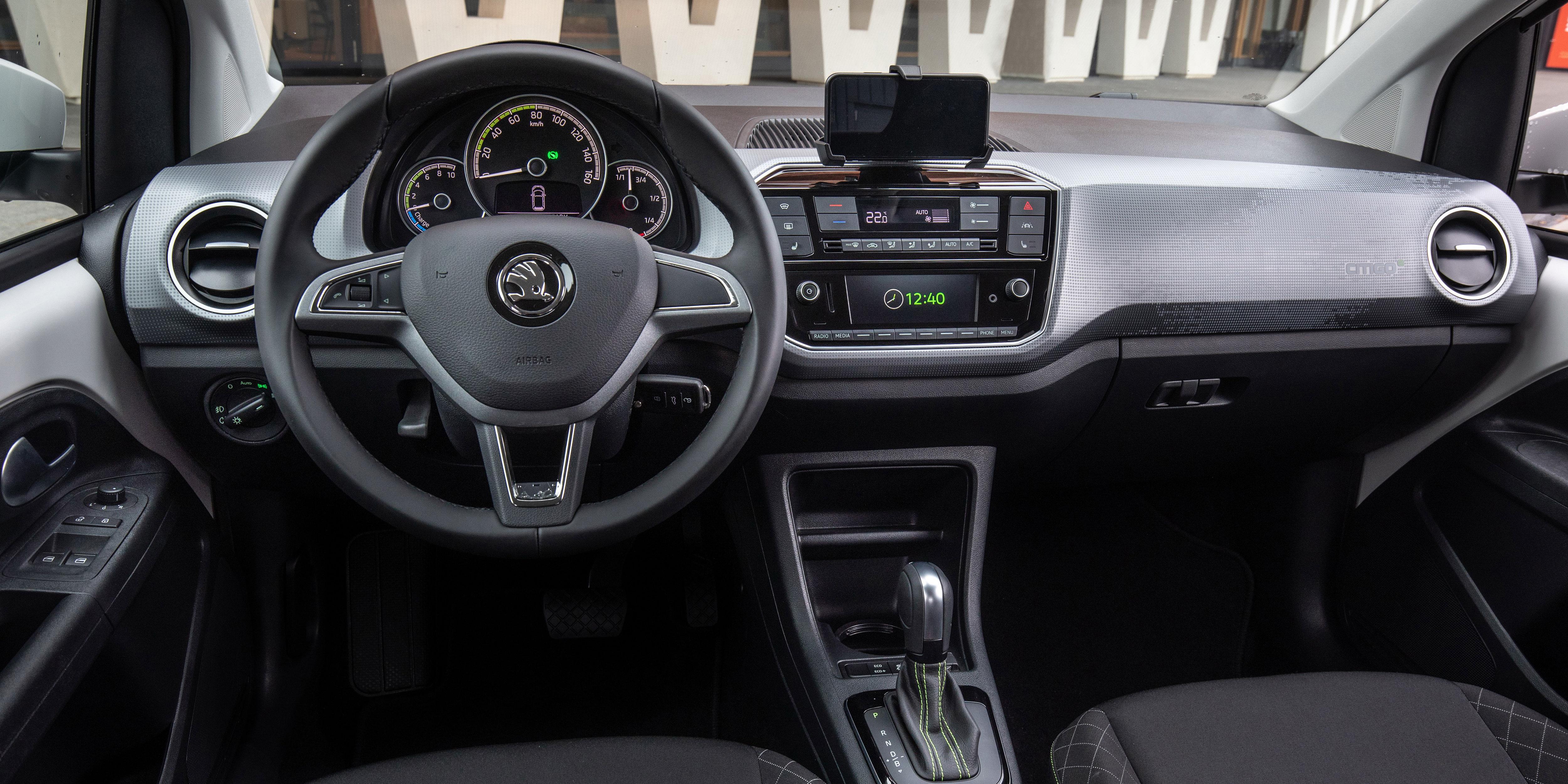 Build A Toyota >> Skoda Citigo e iV Interior & Infotainment | carwow