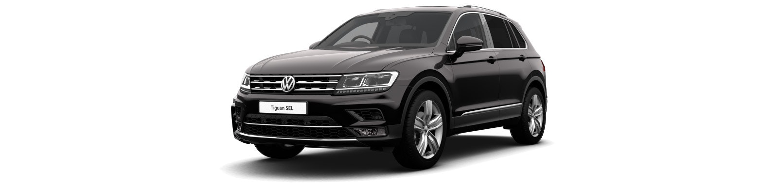Deep Black VW Tiguan