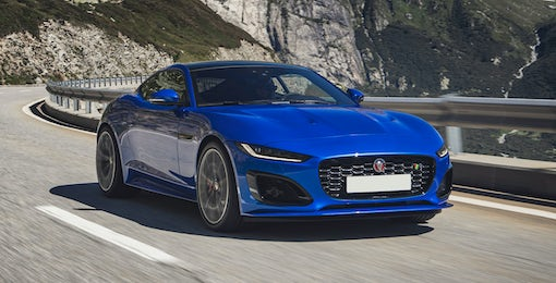 3. Jaguar F-Type