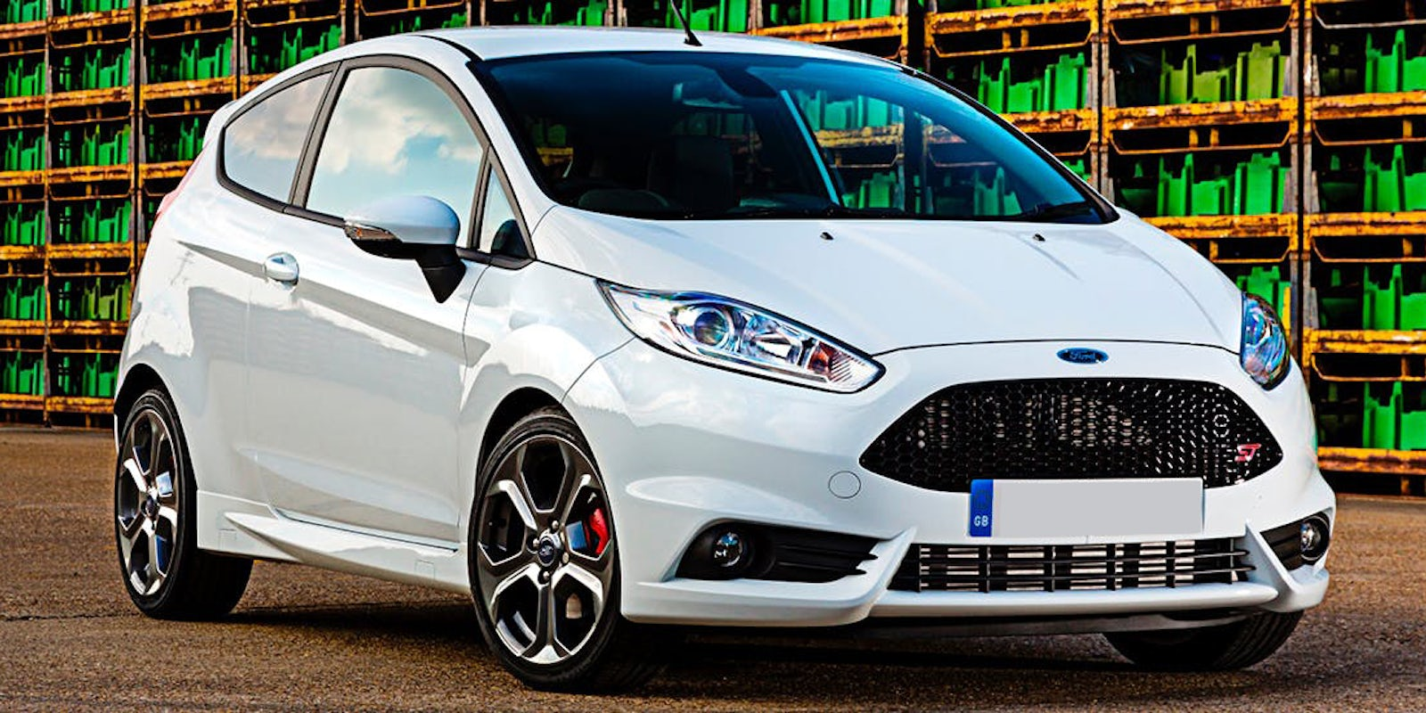 Fiesta St on first ford focus
