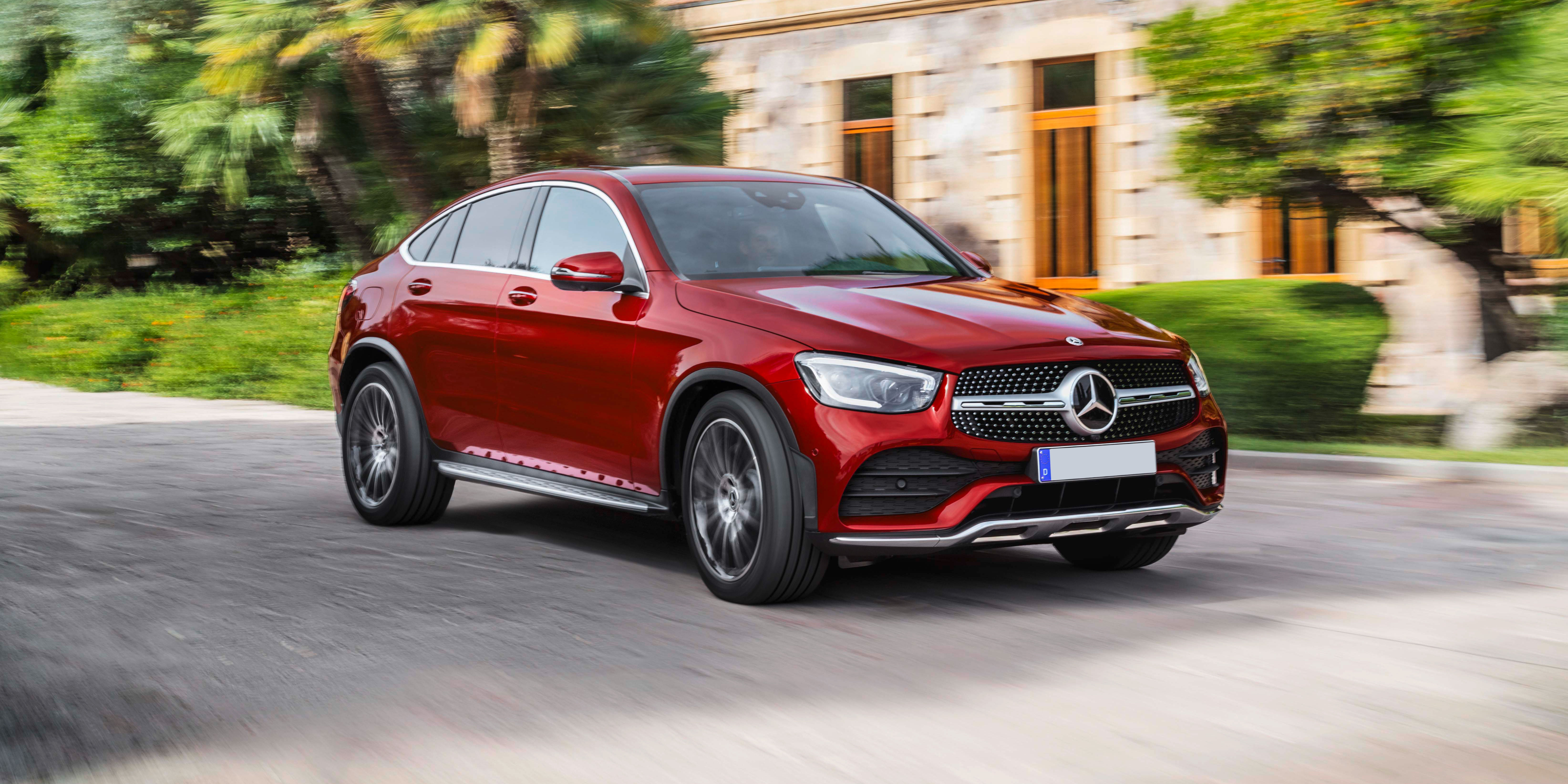 2020 Mercedes – Benz GLC Full Review >> New Mercedes Glc Coupe Review Carwow