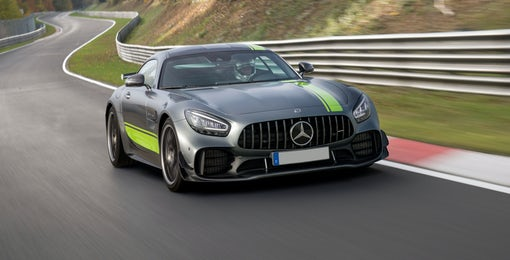 4. Mercedes AMG GT R
