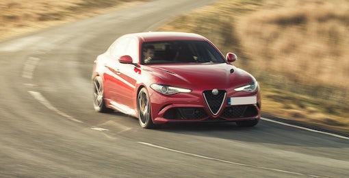 4. Alfa Romeo Giulia Quadrifoglio