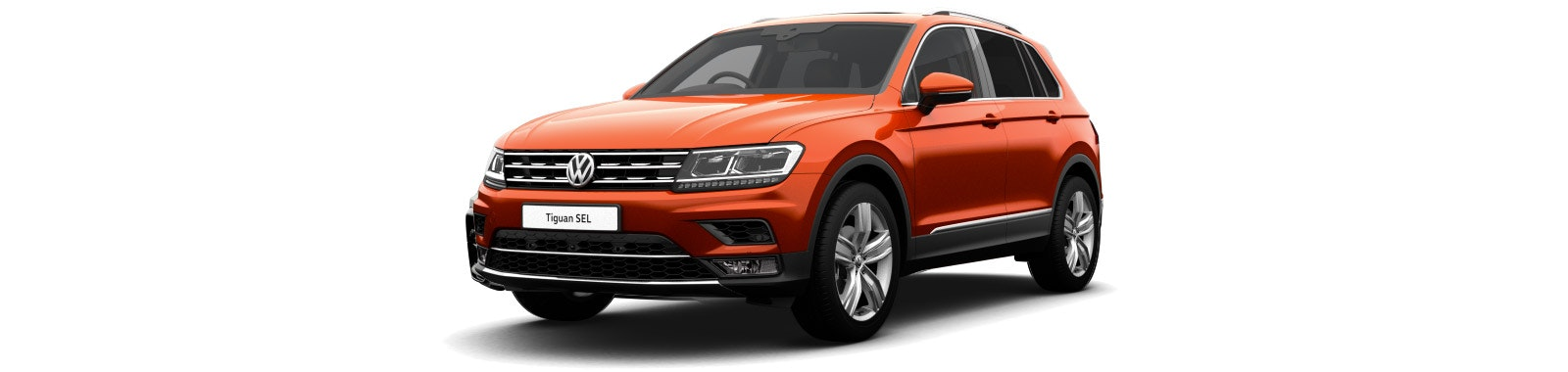 Habanero Orange VW Tiguan