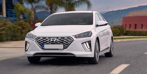 5. Hyundai Ioniq hybrid