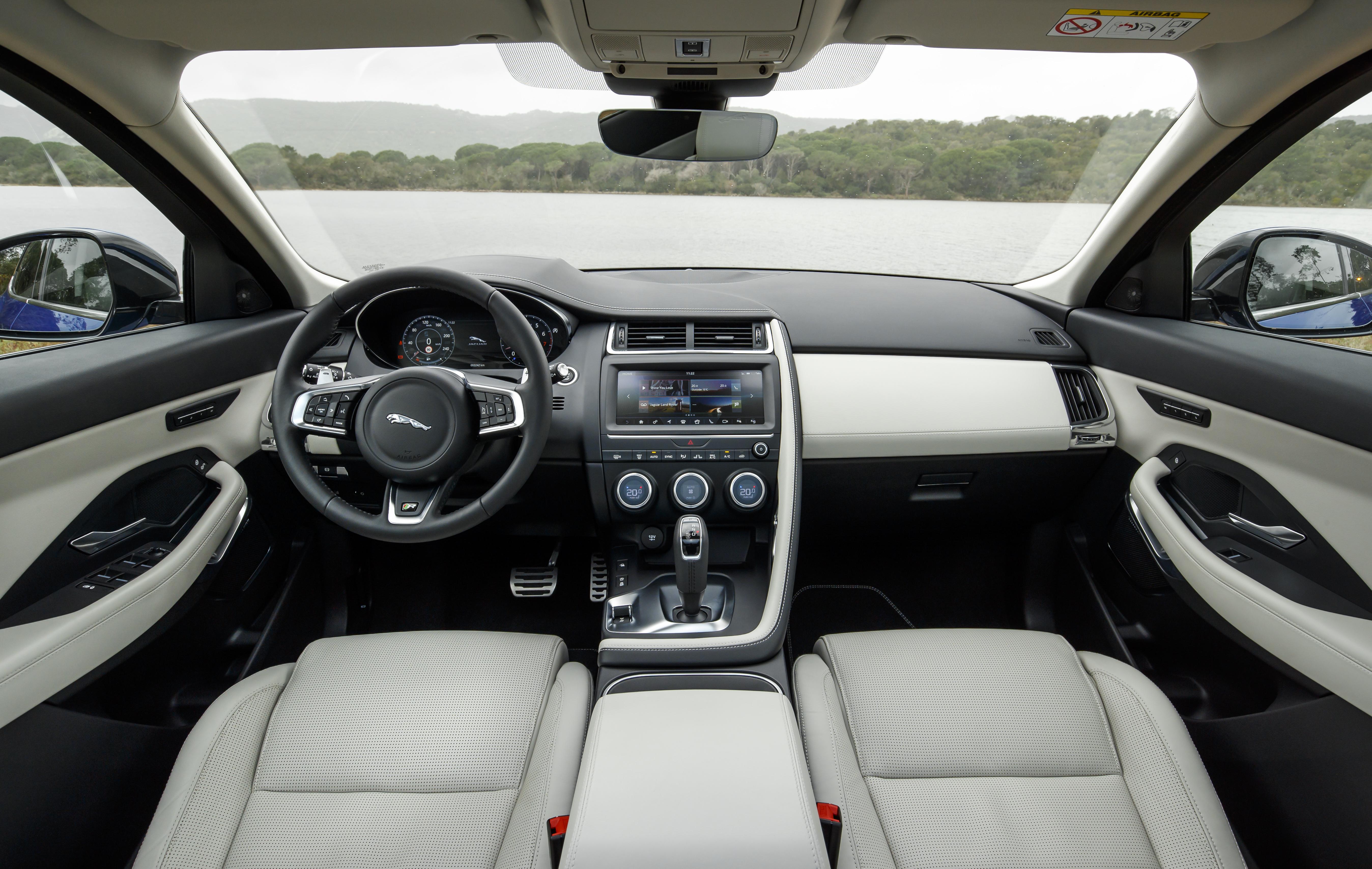 2019 Jaguar E-Pace: Changes, Specs, Price >> Jaguar E Pace Interior Infotainment Carwow