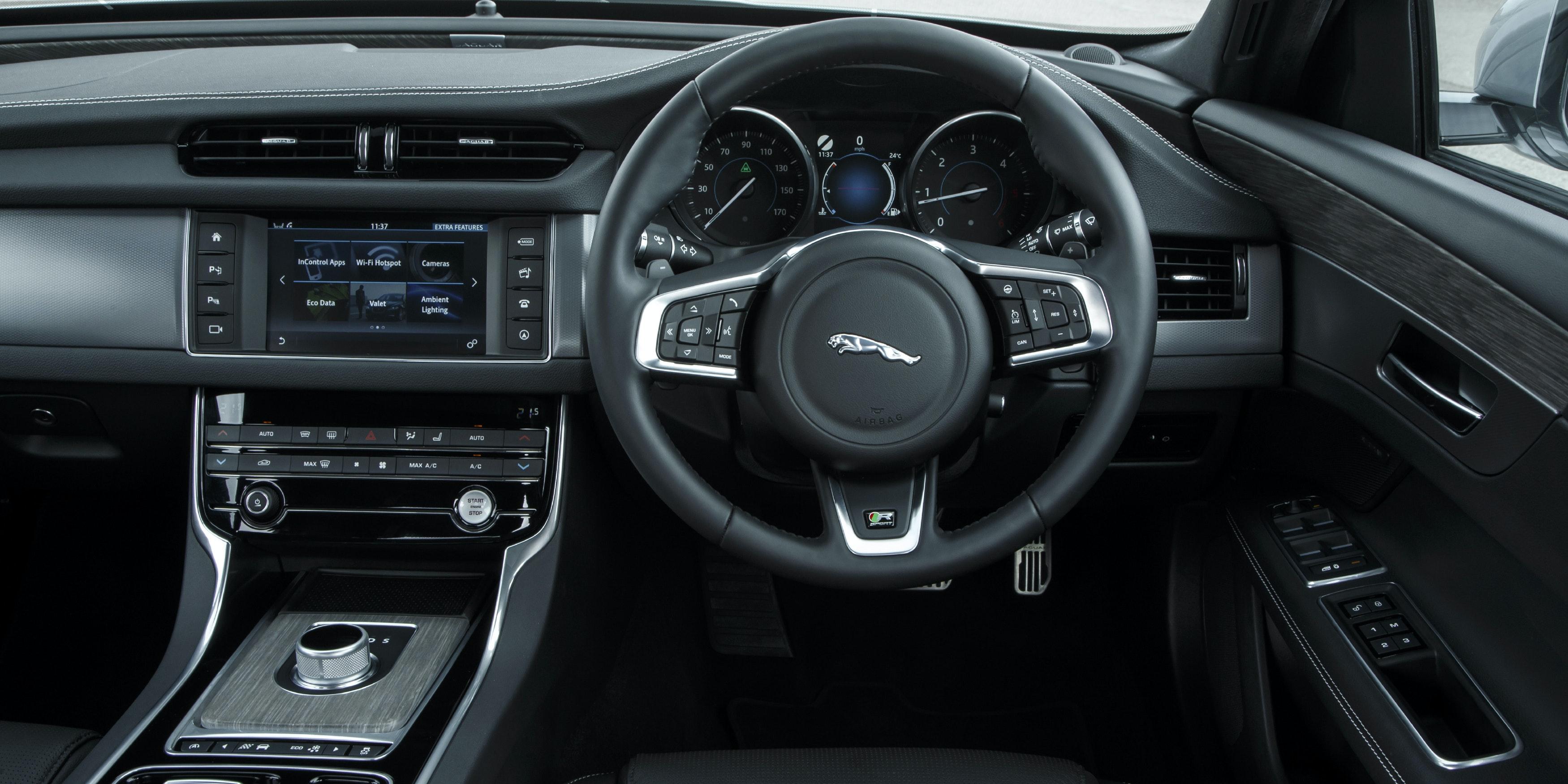 Jaguar XF Interior U0026 Infotainment | Carwow