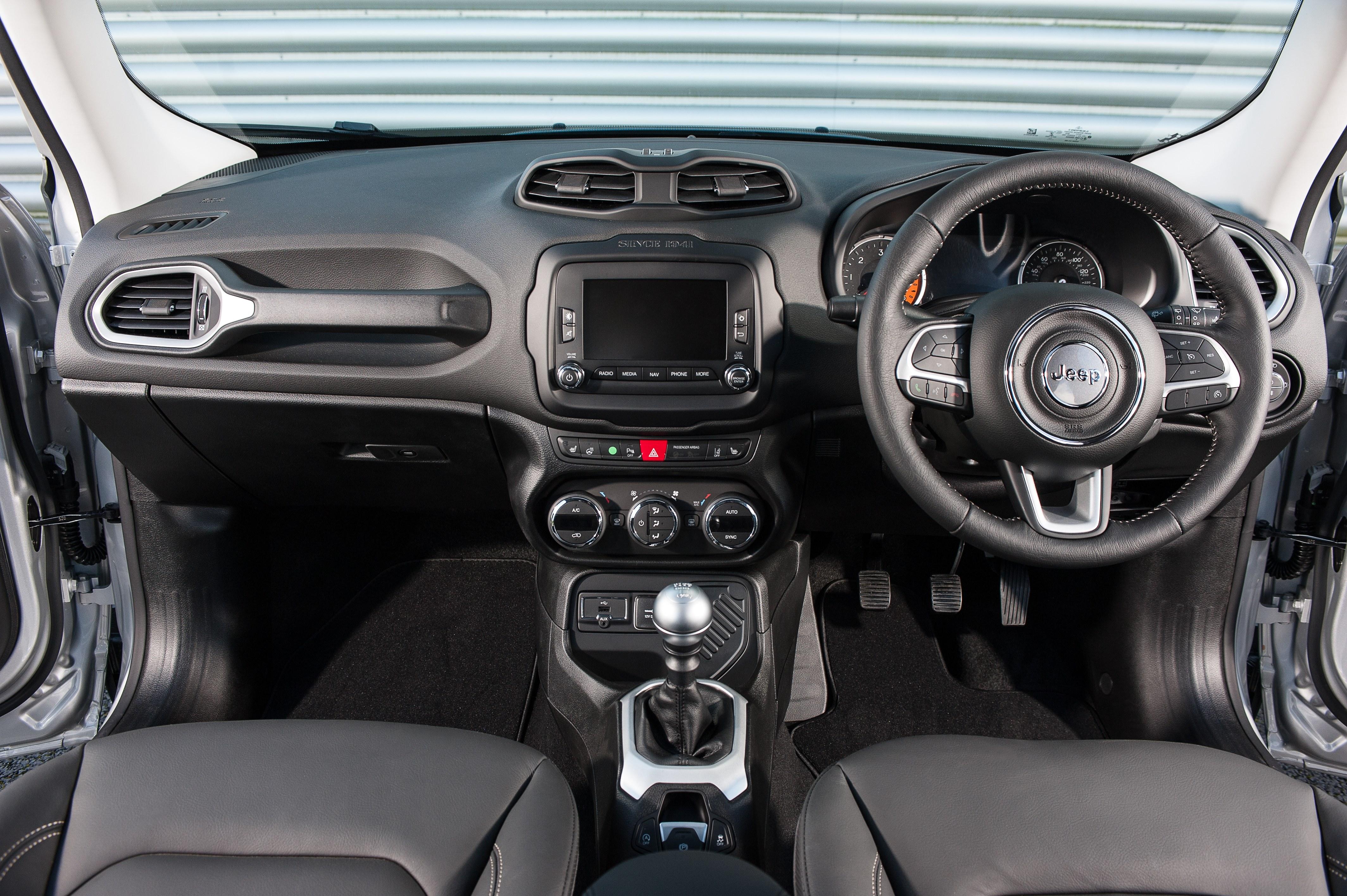 Jeep Renegade Interior & Infotainment  carwow