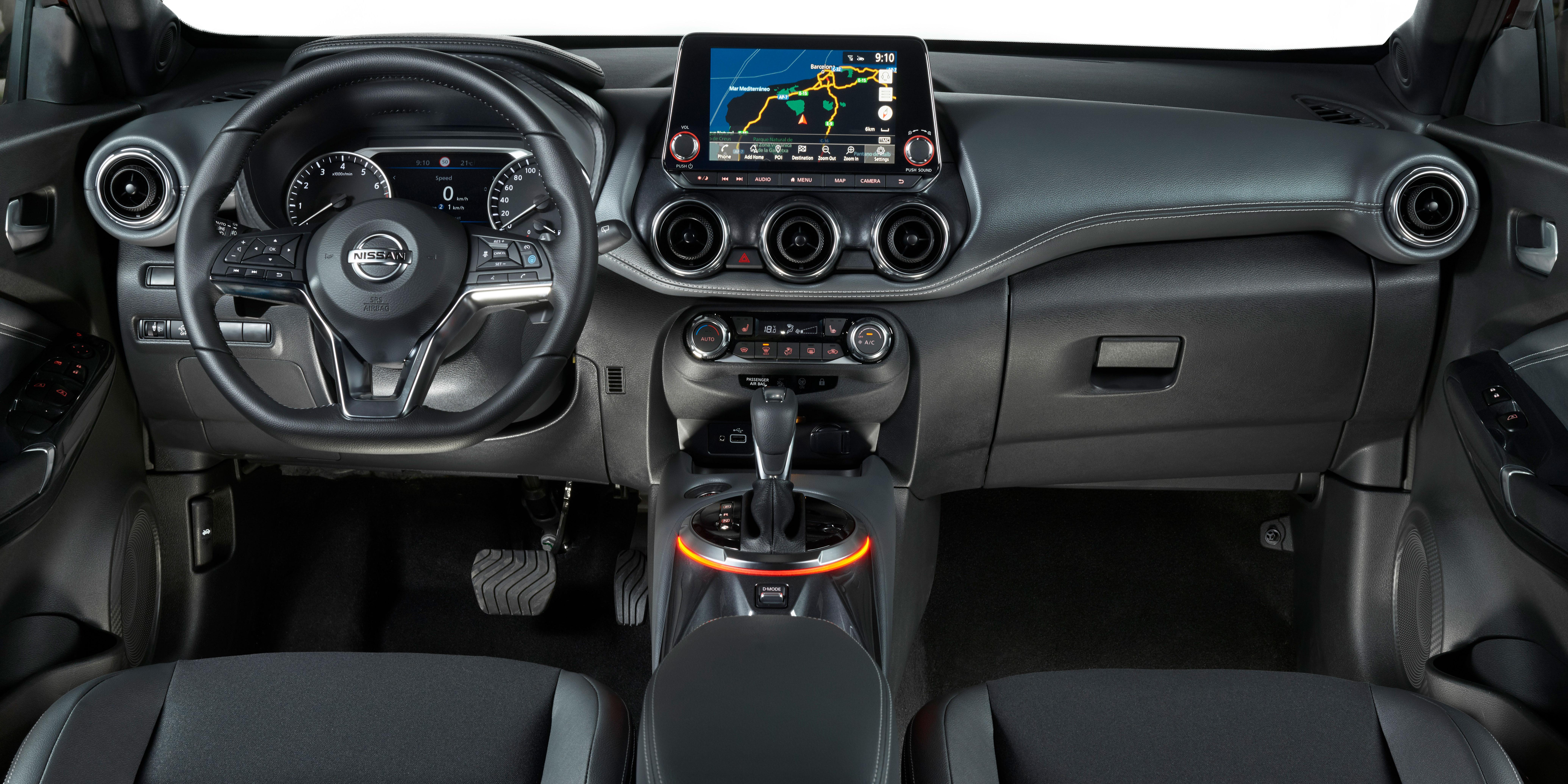 Nissan Juke Interior Infotainment Carwow