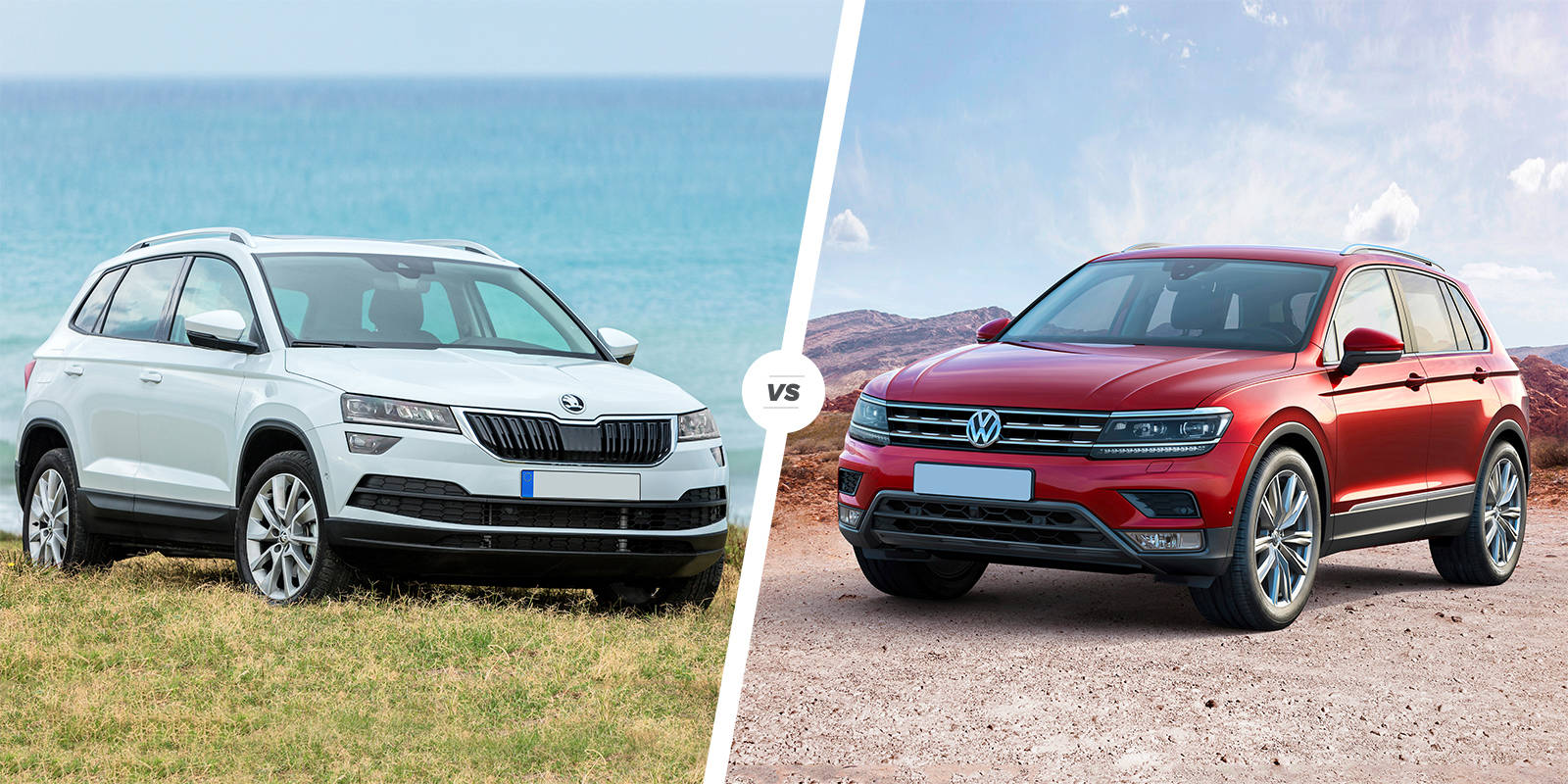 Skoda Karoq Vs Vw Tiguan Which Is Best Carwow