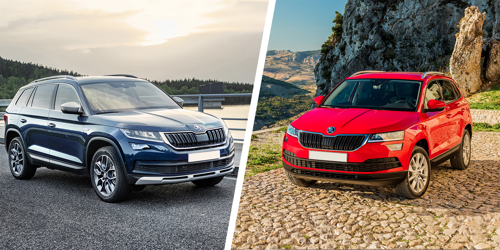 Skoda Kodiaq vs Skoda Karoq which is best